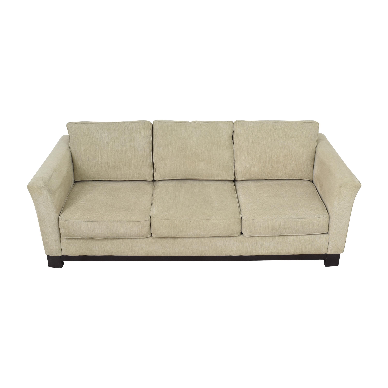 Havertys Havertys Three Cushion Sofa nj