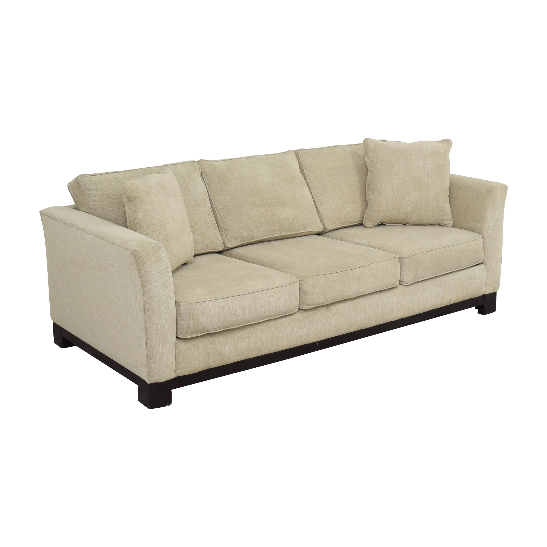 Havertys Havertys Three Cushion Sofa discount
