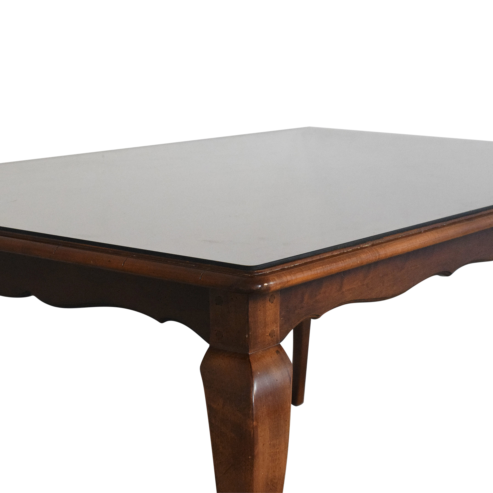 Hickory Chair Hickory Chair Extendable Dining Table second hand