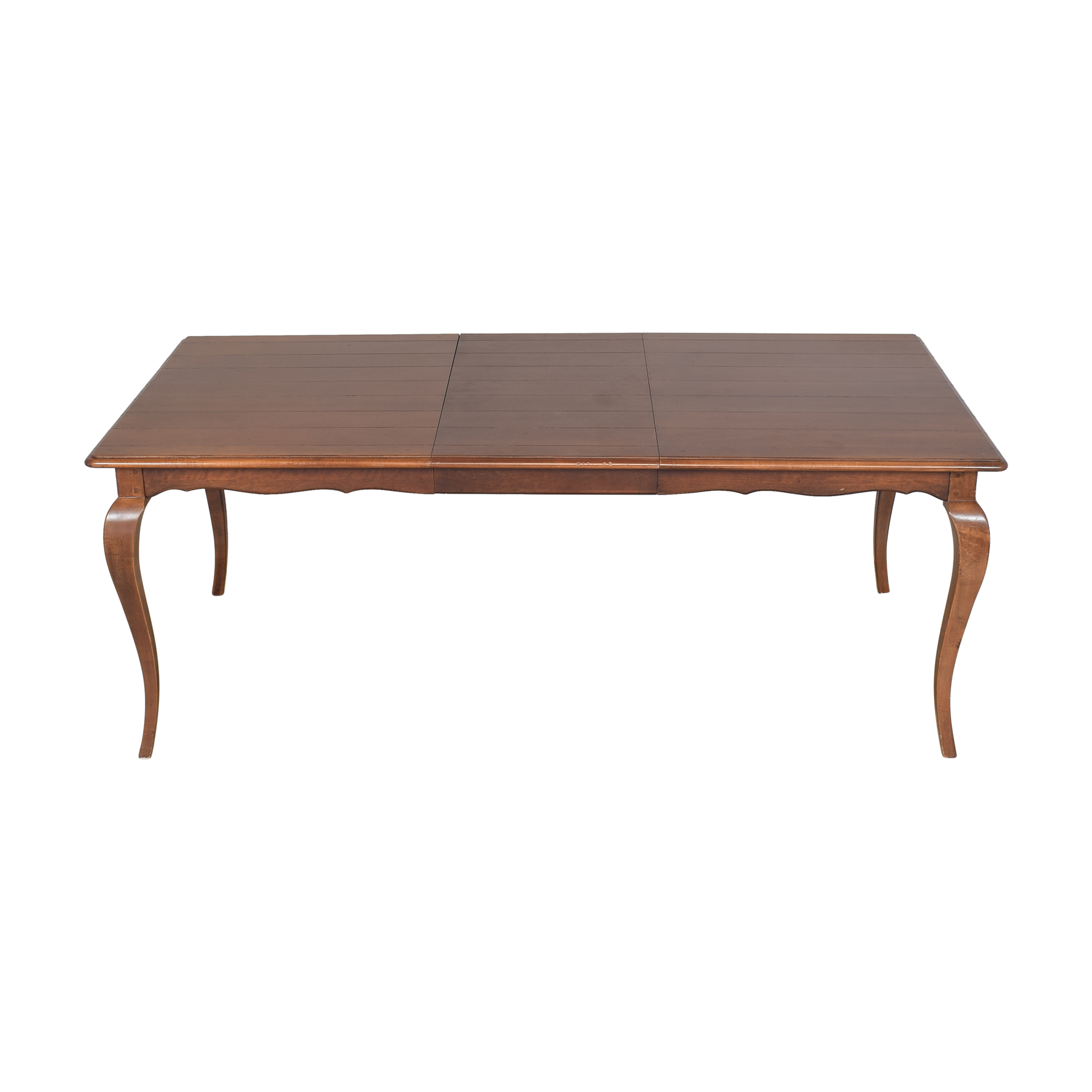 buy Hickory Chair Extendable Dining Table Hickory Chair