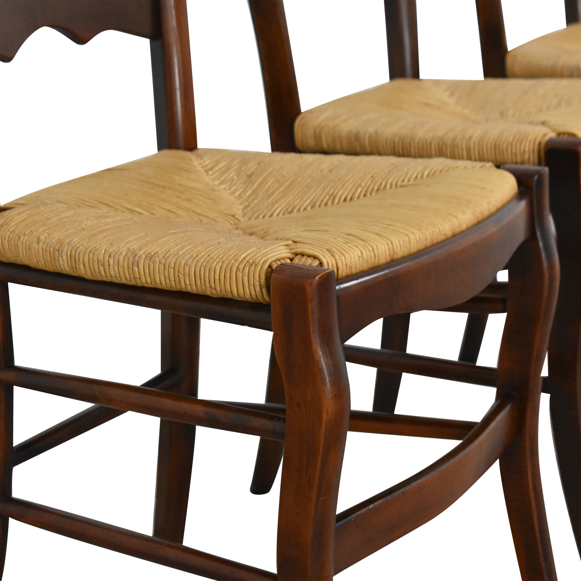 Hickory Chair Hickory Chair Ladder Back Dining Chairs dimensions