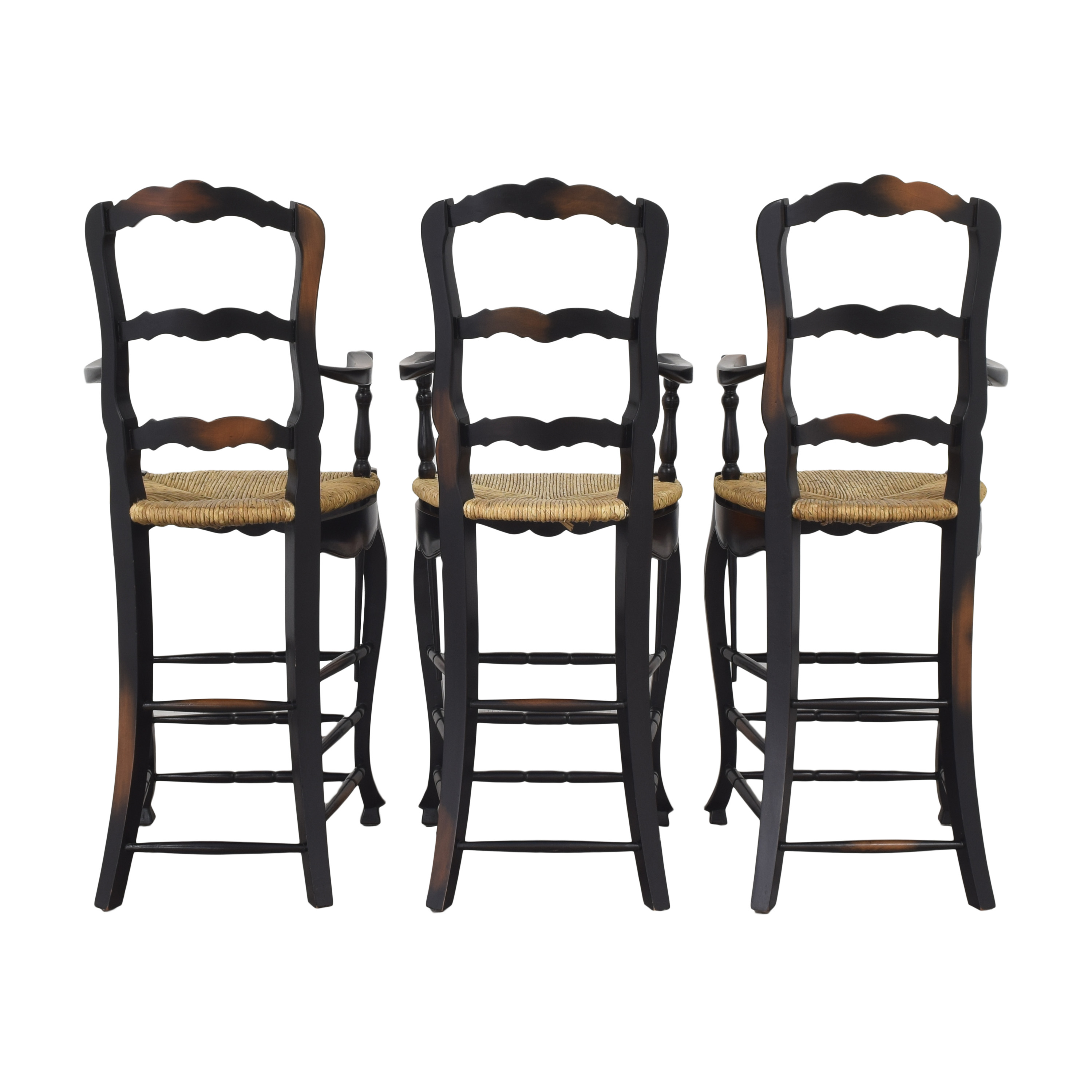 French Country Ladderback Stools nj