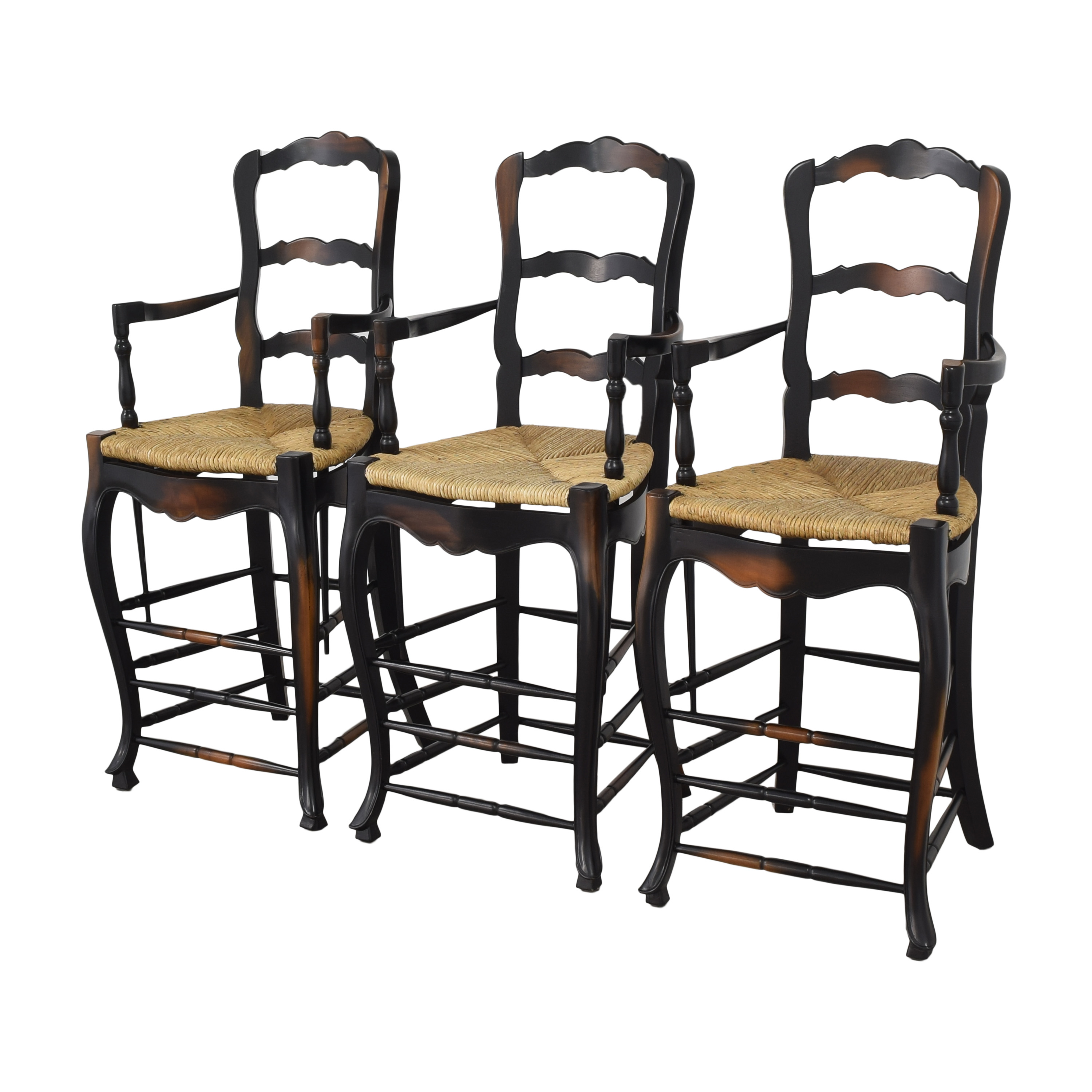 French Country Ladderback Stools