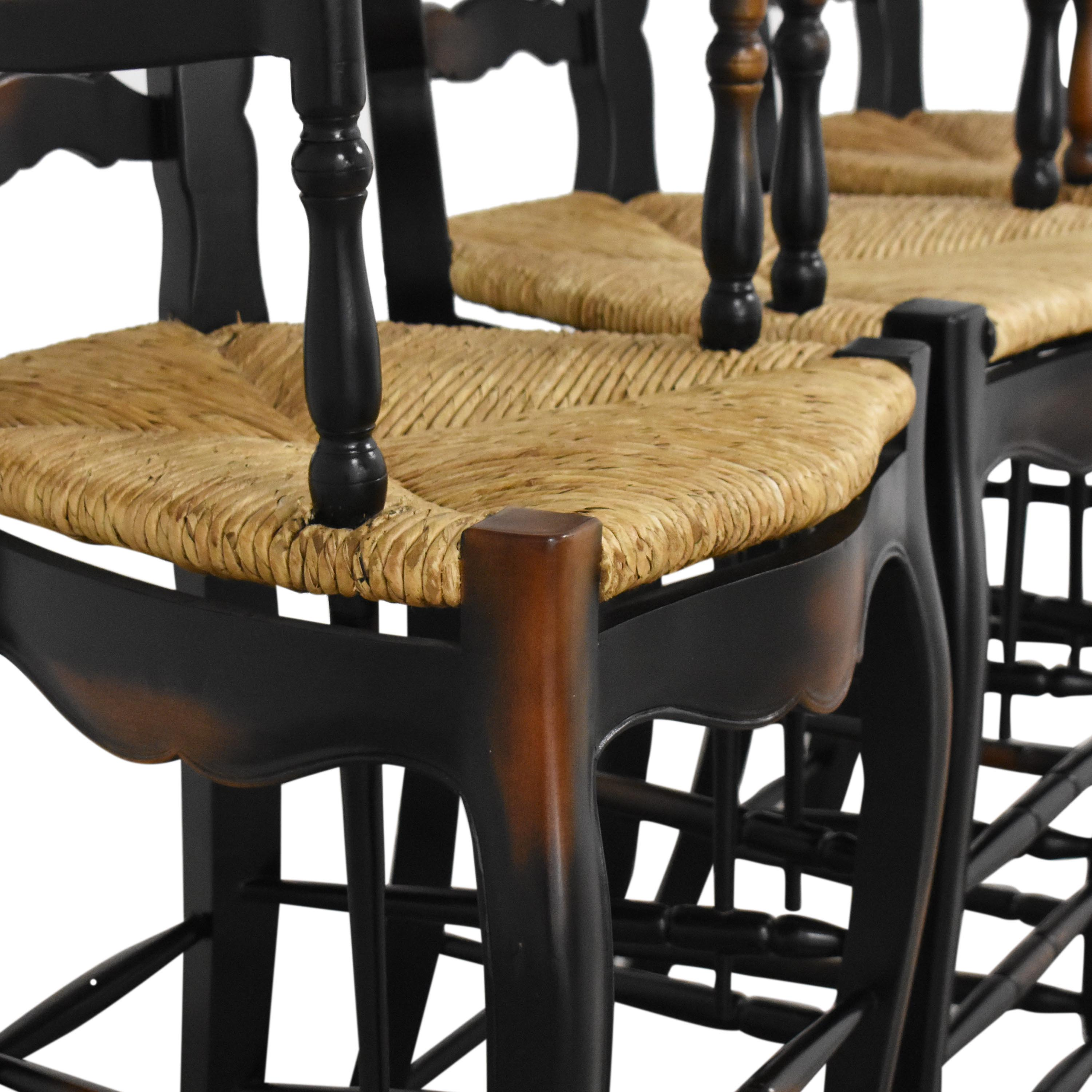 shop French Country Ladderback Stools  Stools