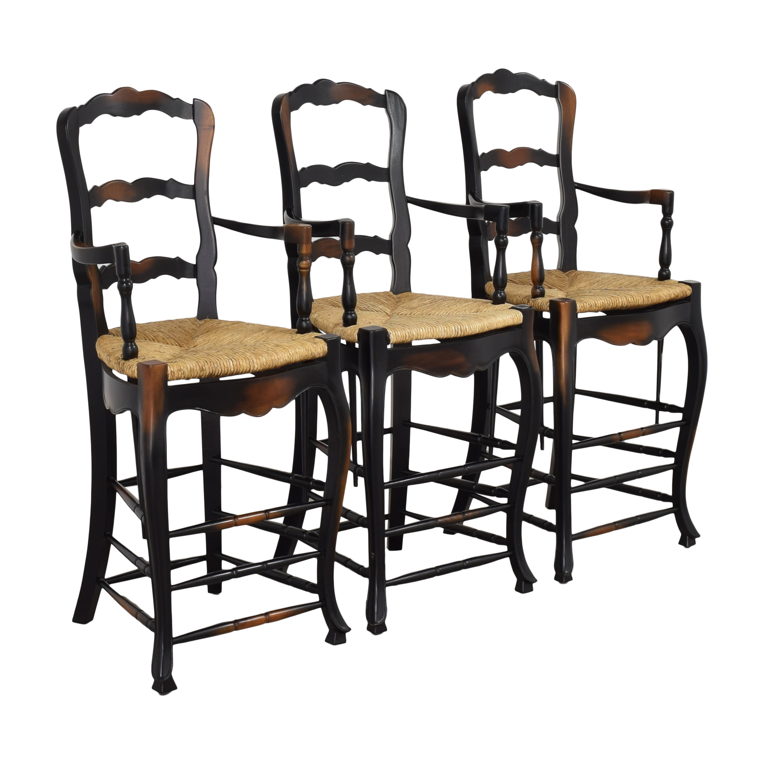 buy French Country Ladderback Stools
