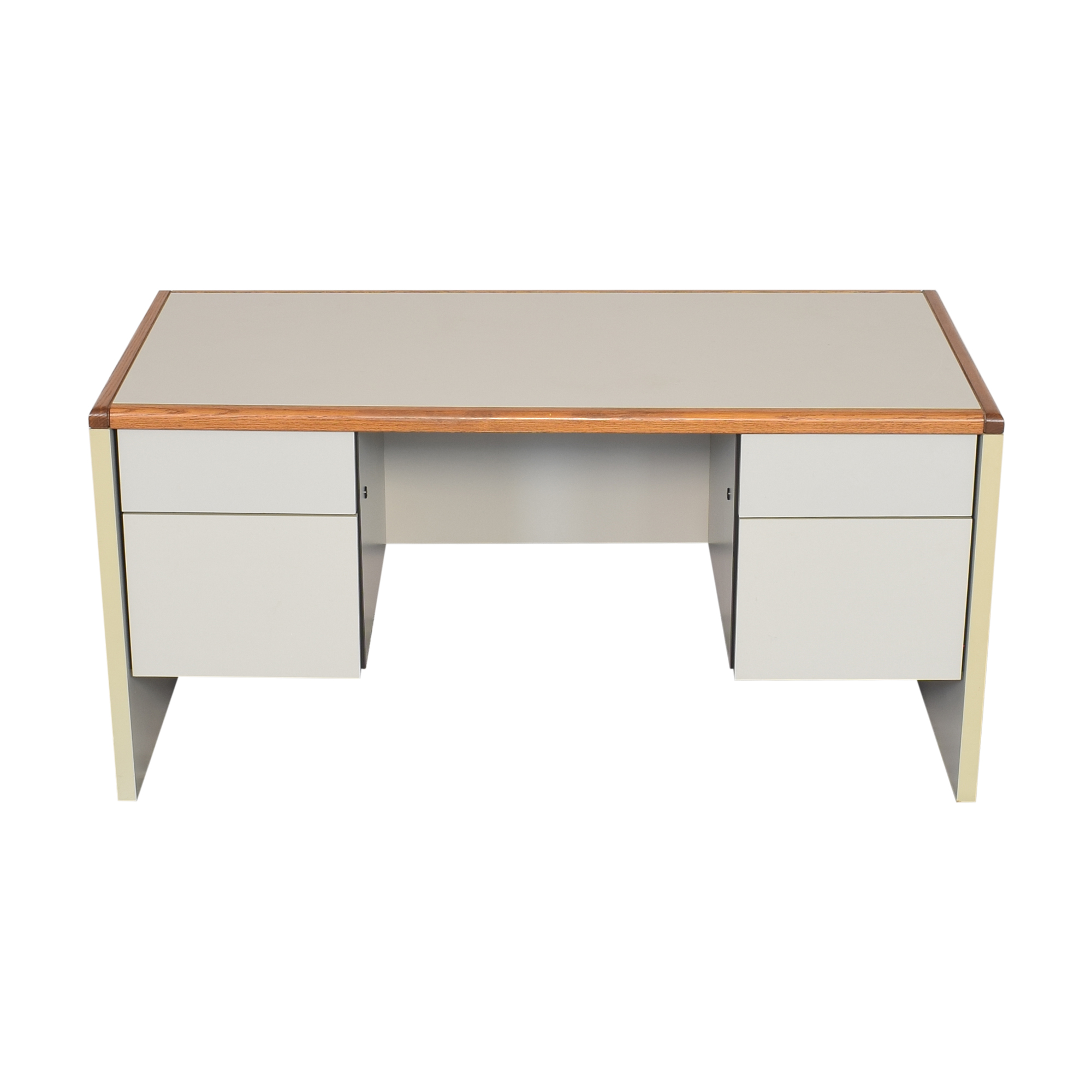 Desk with Four Drawers dimensions