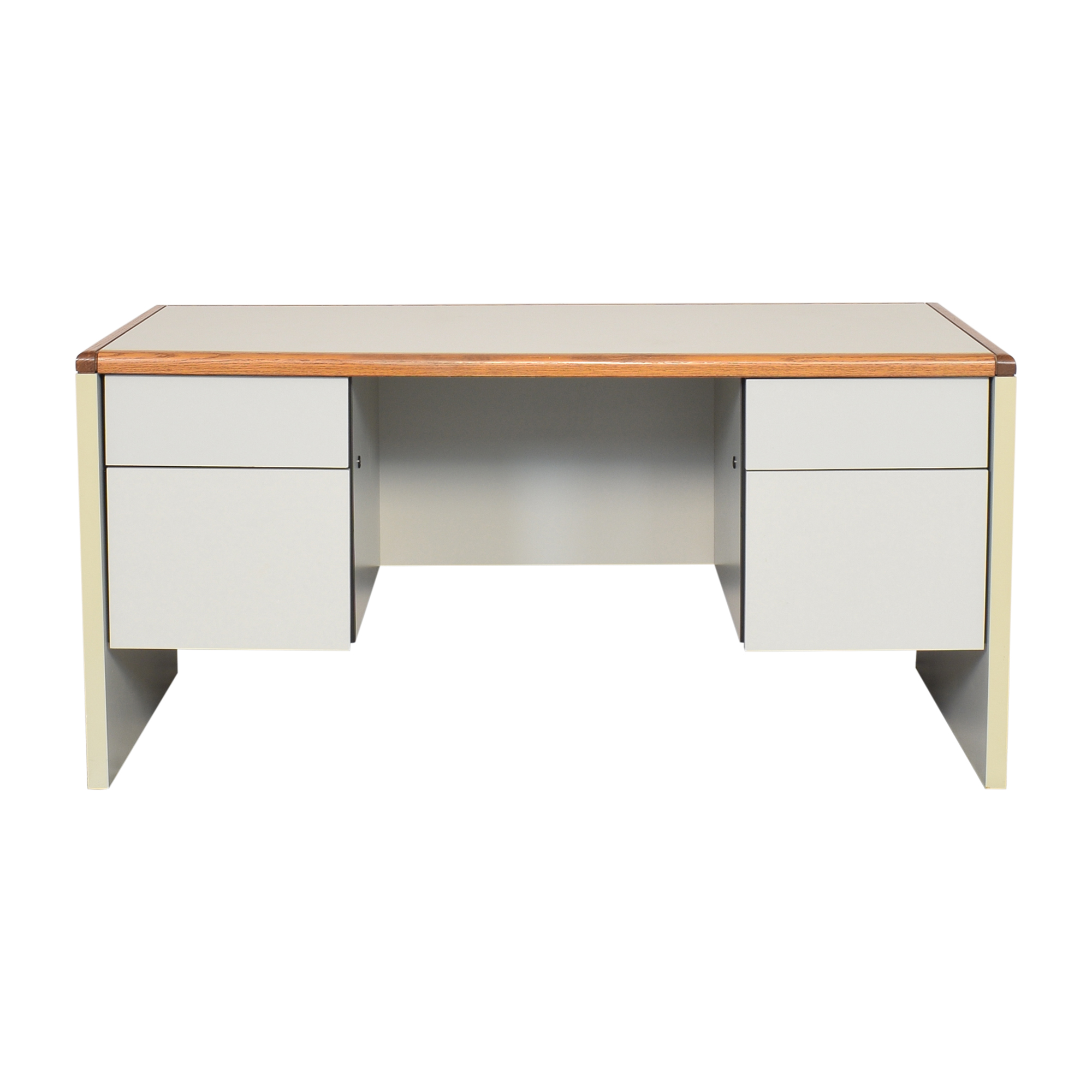 Desk with Four Drawers discount