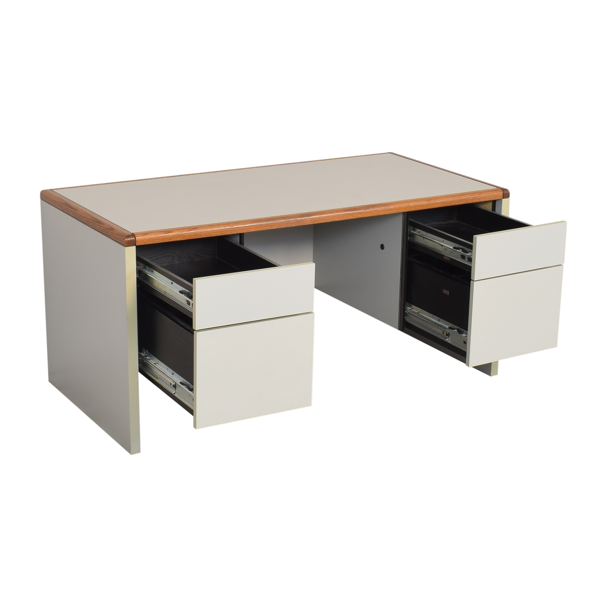 Desk with Four Drawers / Home Office Desks