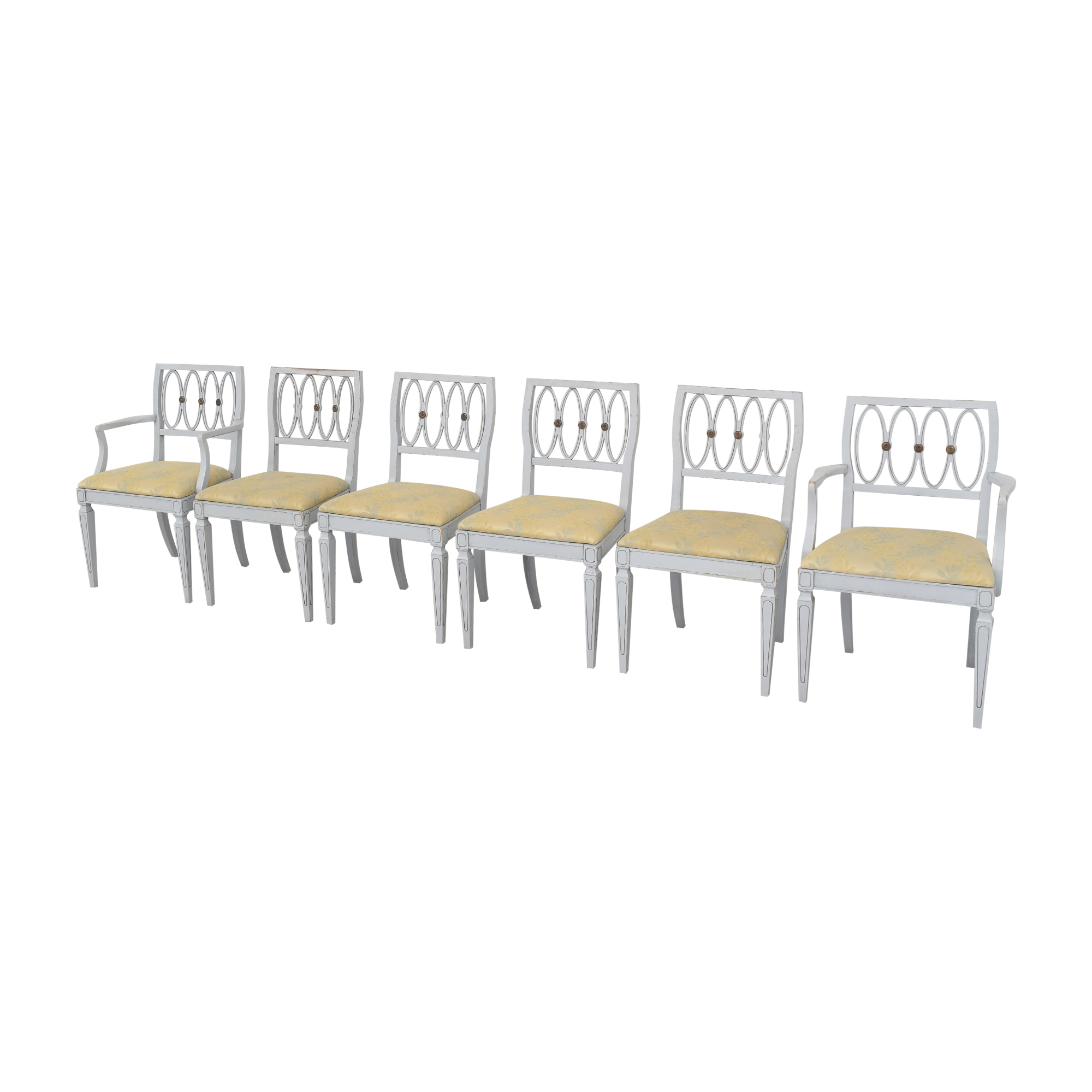 Thomasville Thomasville Hollywood Regency Style Dining Chairs pa