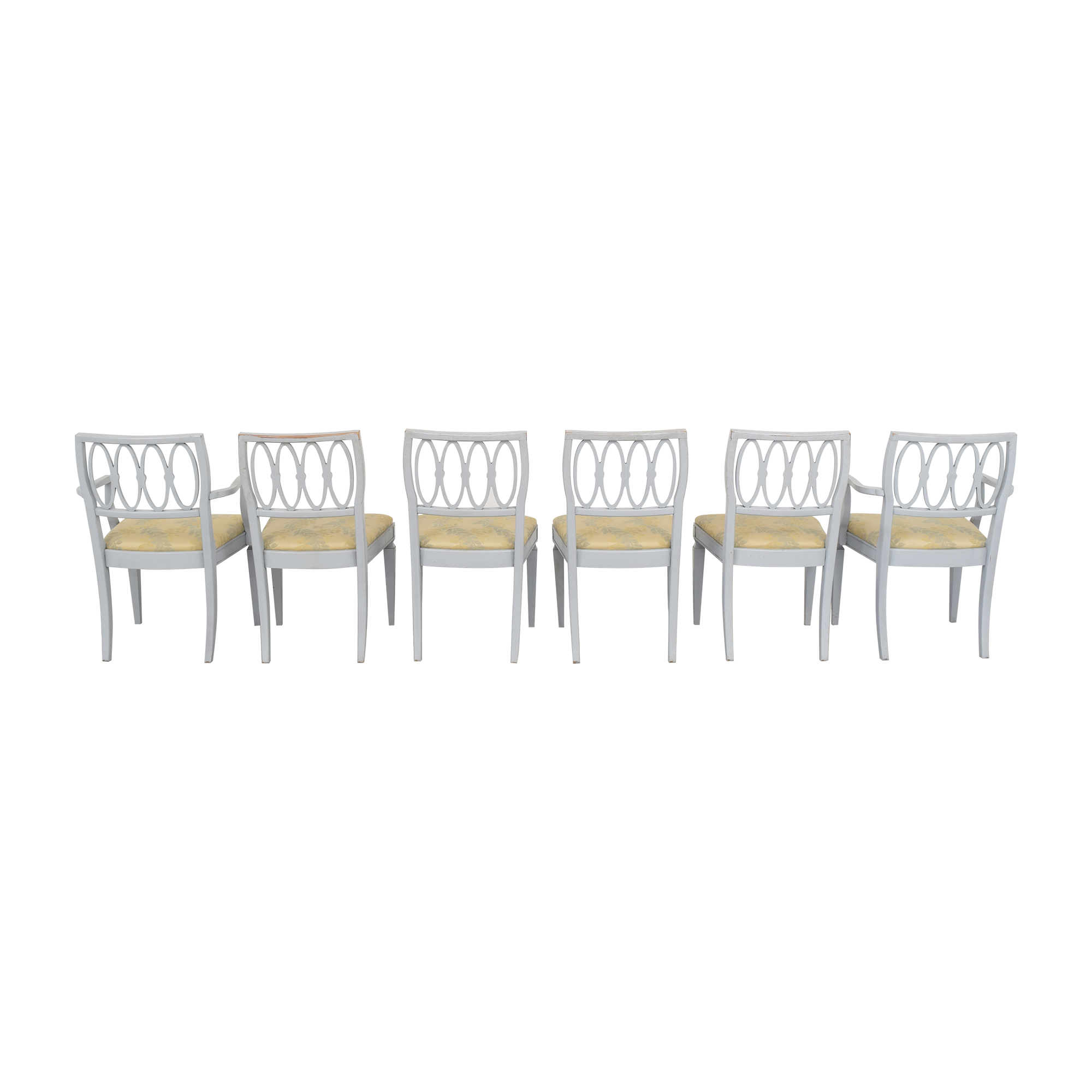 Thomasville Hollywood Regency Style Dining Chairs / Chairs