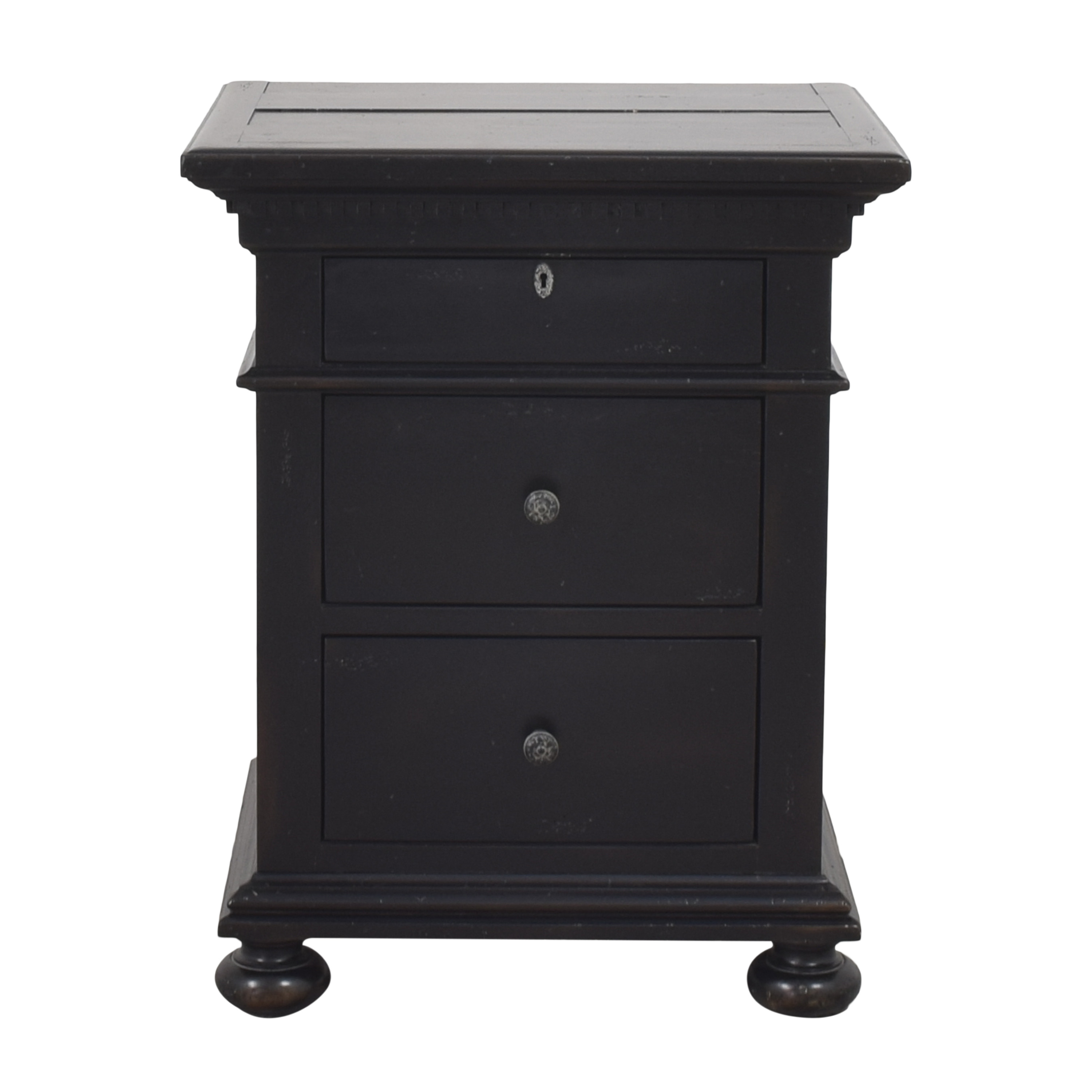 Restoration Hardware Restoration Hardware St. James Closed Nightstand pa