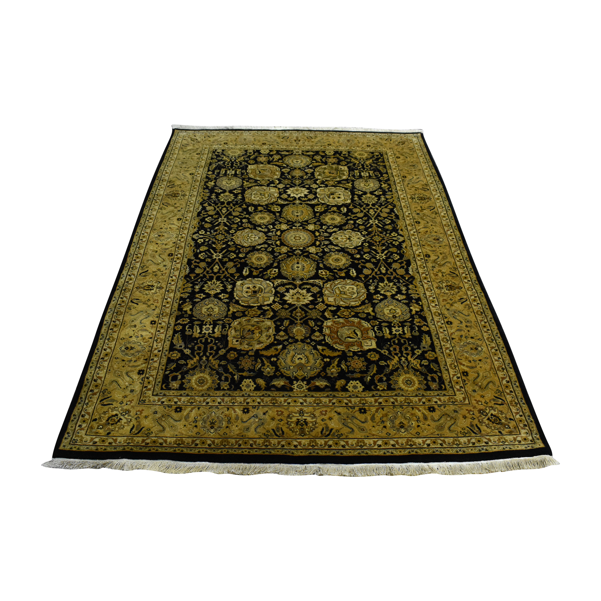Patterned Area Rug Decor