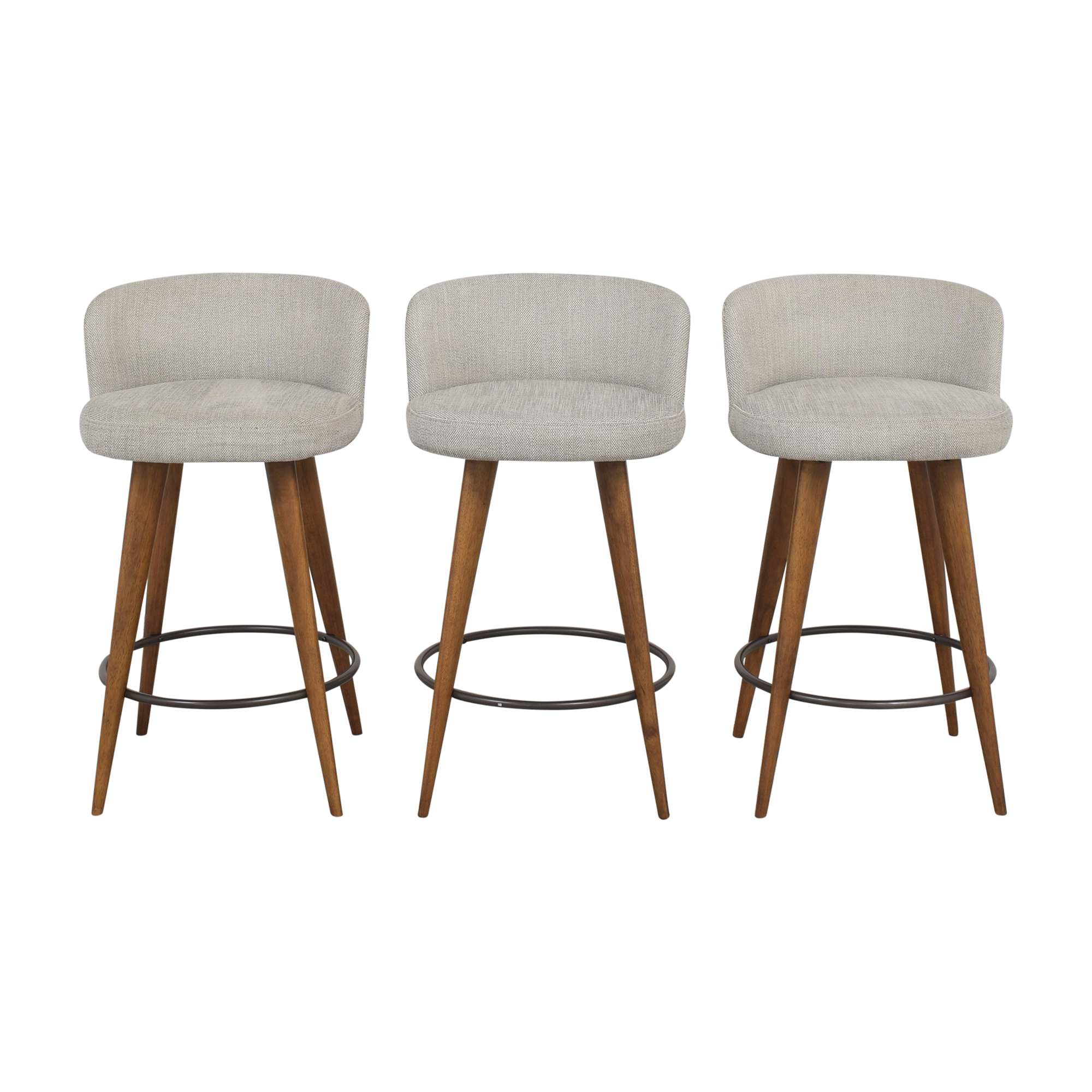 buy West Elm Abrazo Upholstered Counter Stools West Elm Stools
