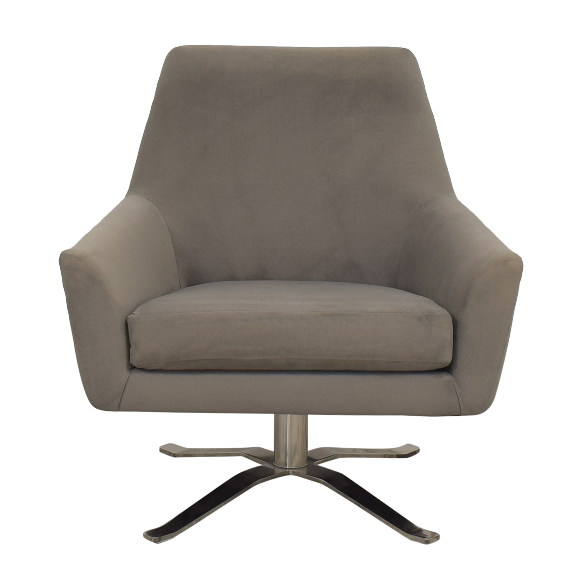 West Elm West Elm Lucas Swivel Chair ct