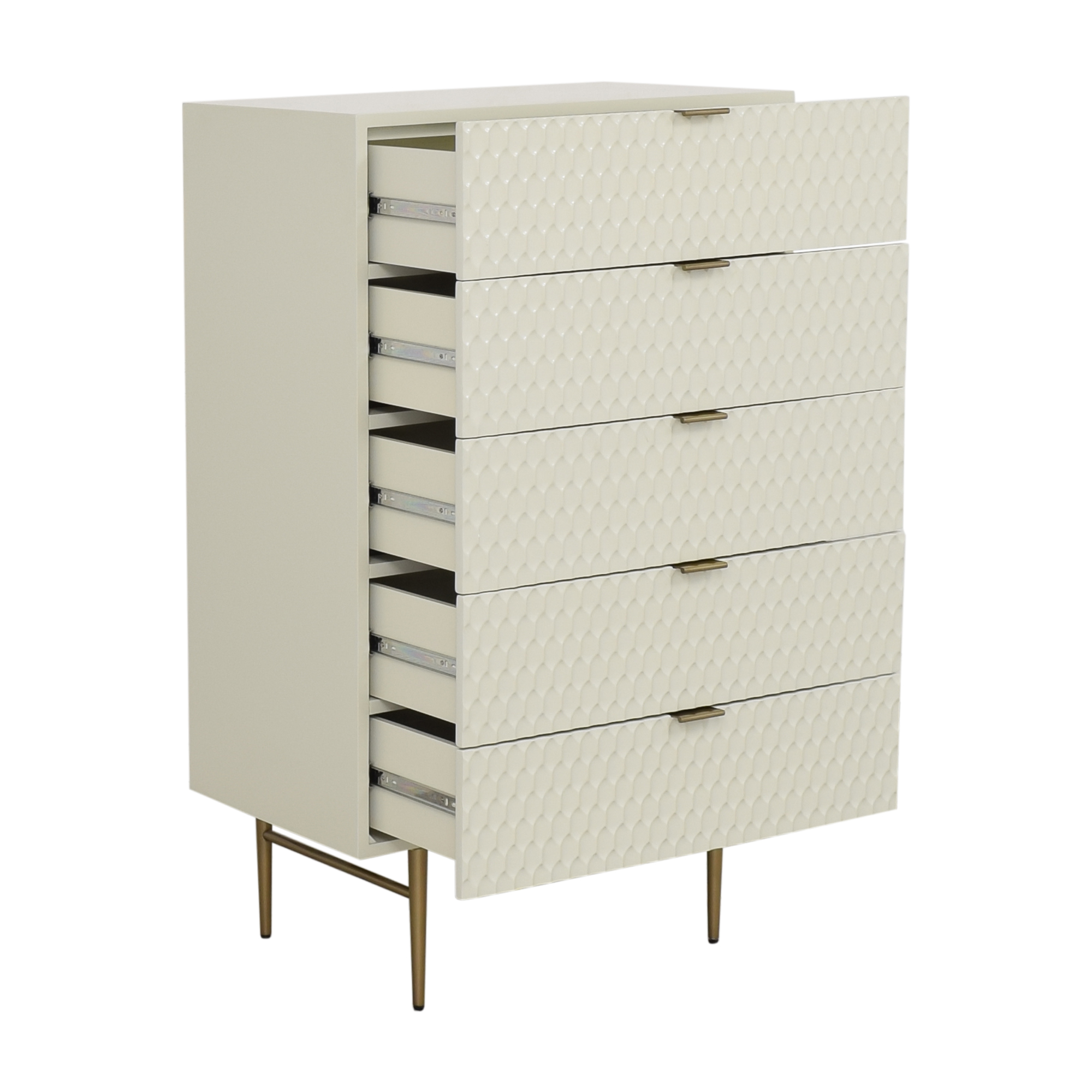 shop West Elm West Elm Audrey Five Drawer Dresser online