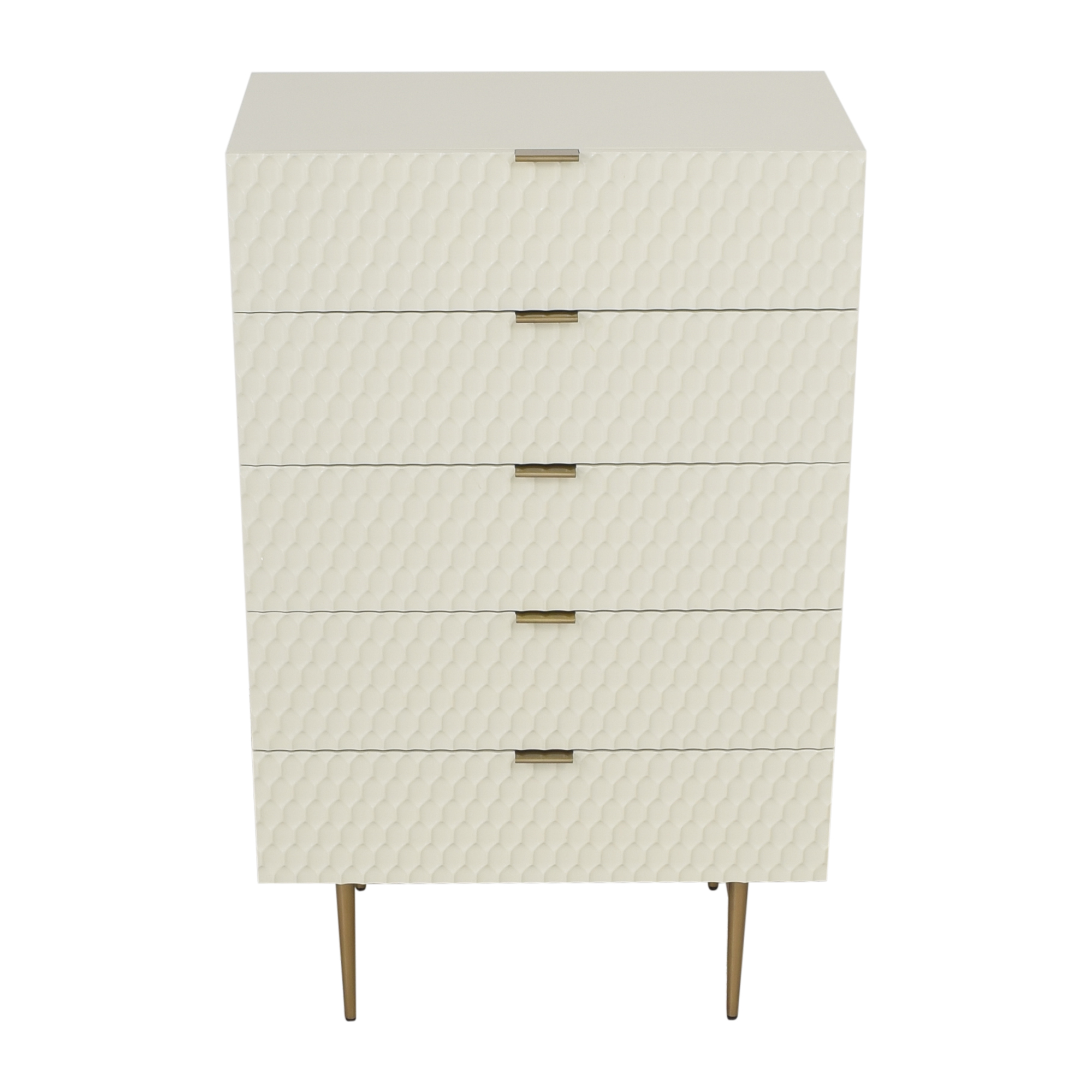 West Elm Audrey Five Drawer Dresser / Storage
