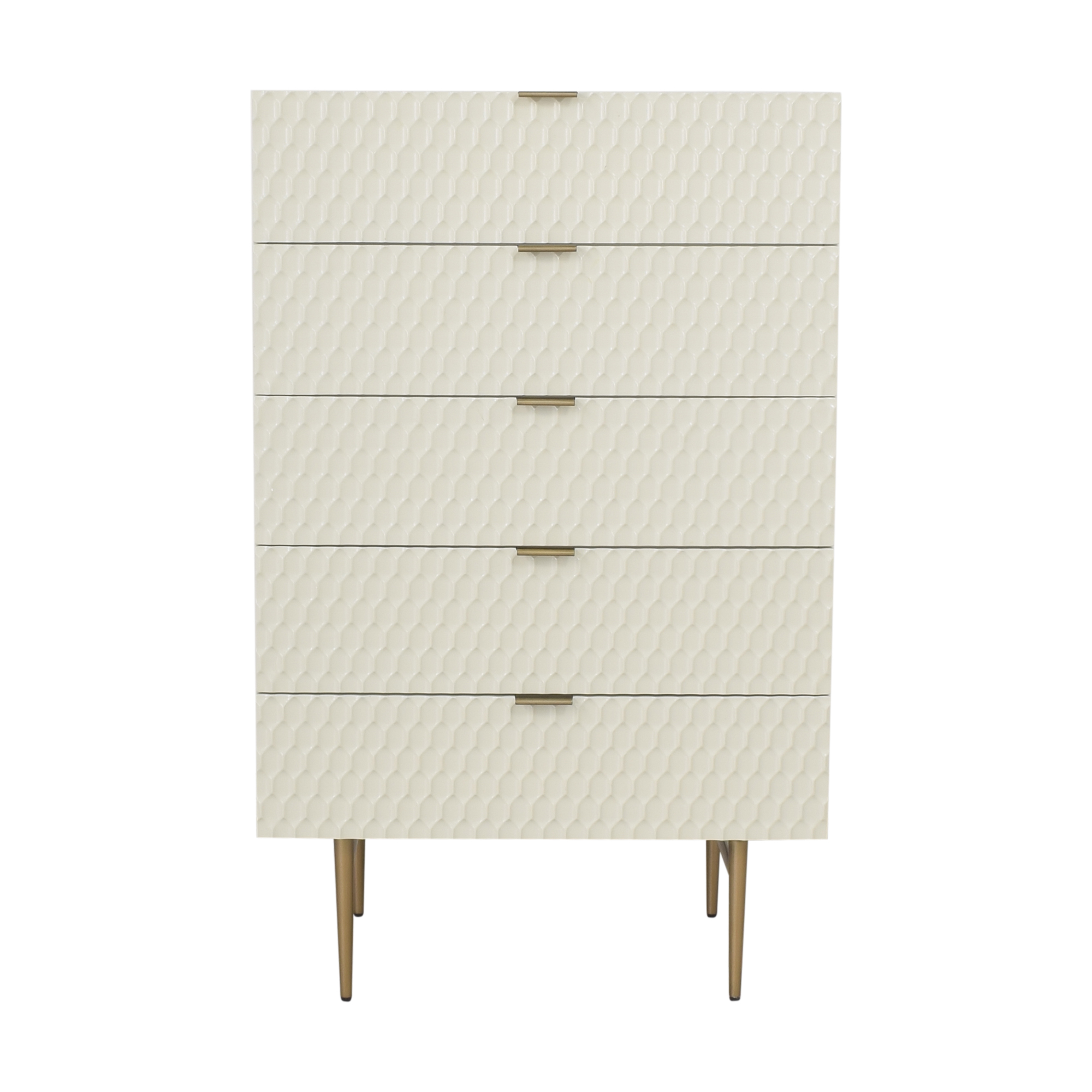 shop West Elm Audrey Five Drawer Dresser West Elm Dressers