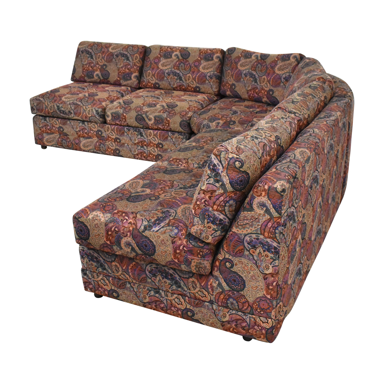 Custom L Shaped Sectional Sofa second hand