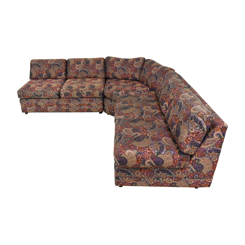 Custom L Shaped Sectional Sofa nyc