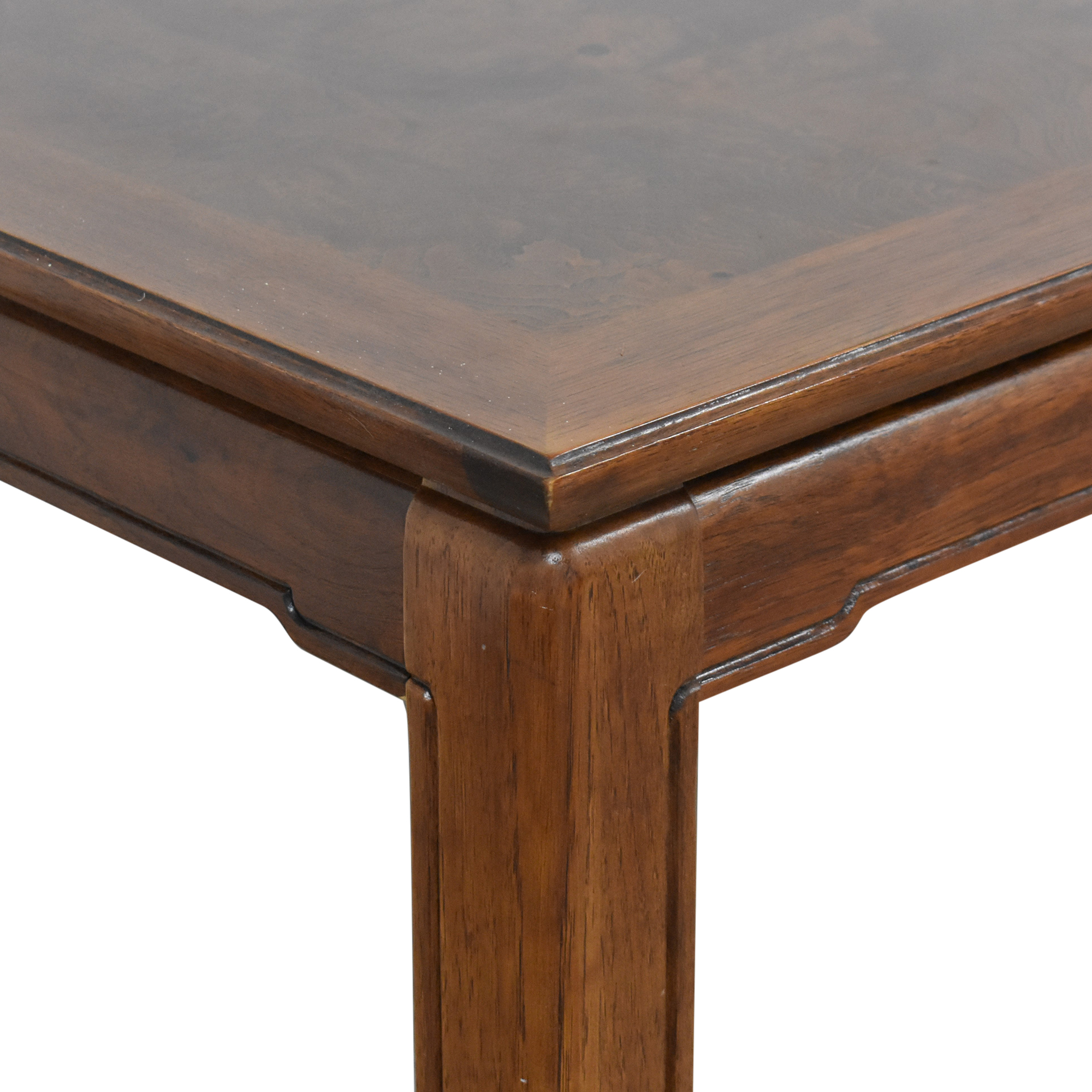 Thomasville Thomasville Mystique Extendable Dining Table brown