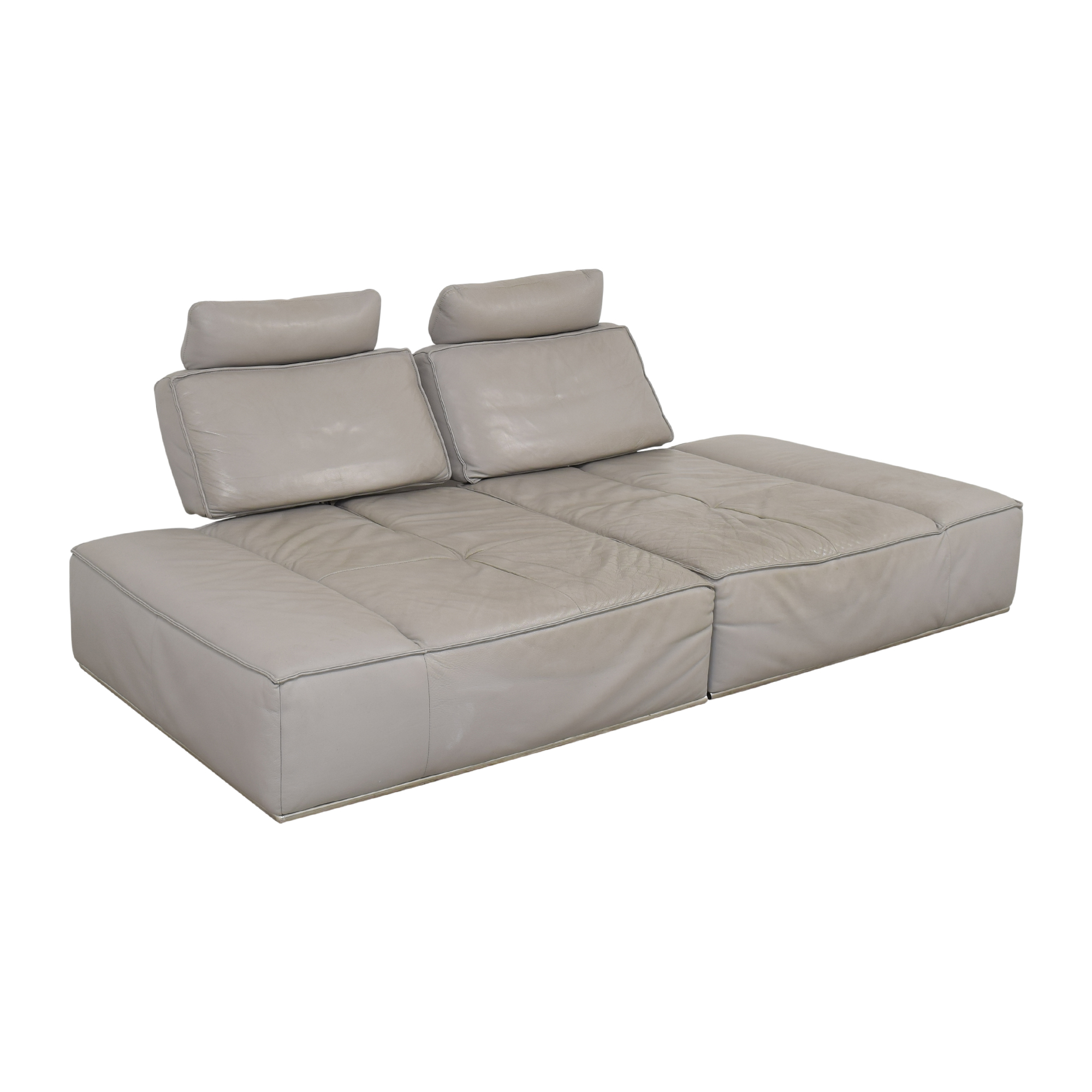 Sit Down New York Sit Down New York Convertible Sectional Sofa used