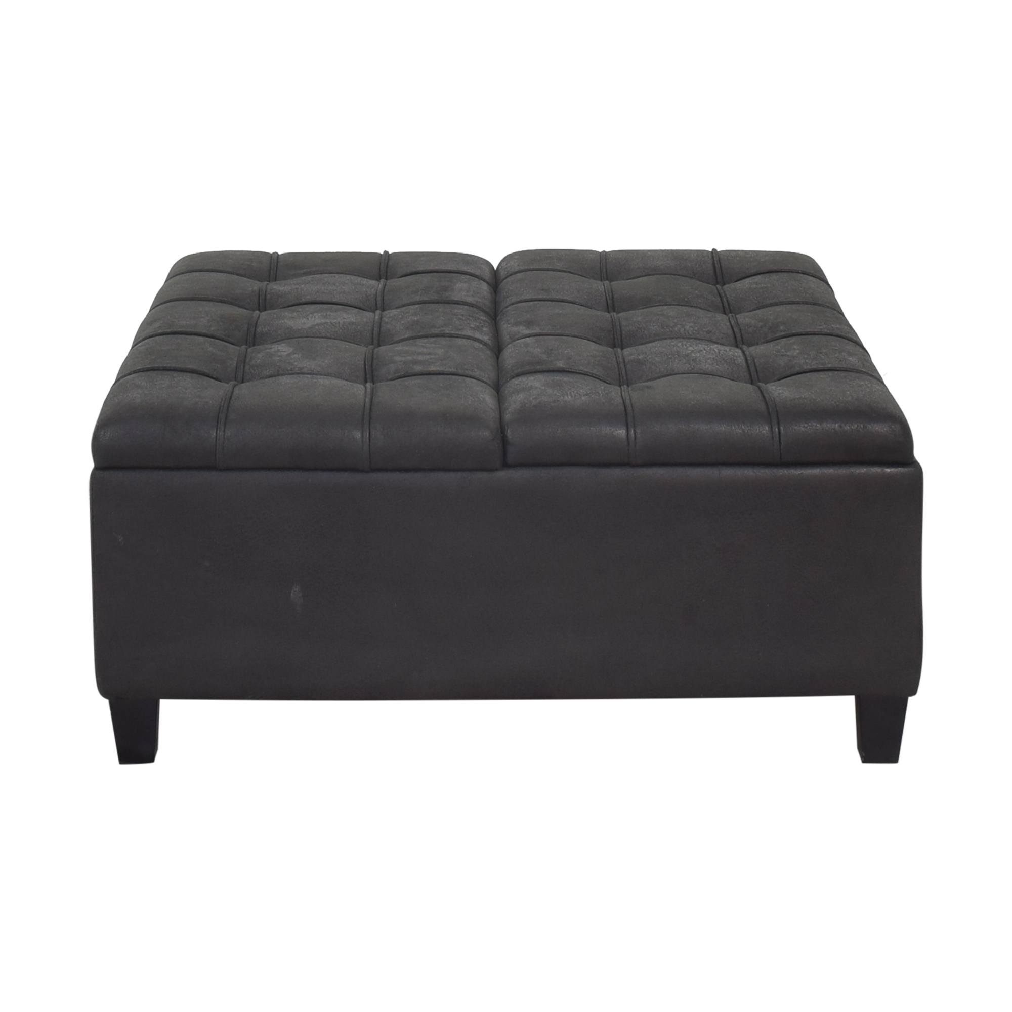 shop Macy's Macy's Simpli Home Harrison Coffee Table Storage Ottoman online