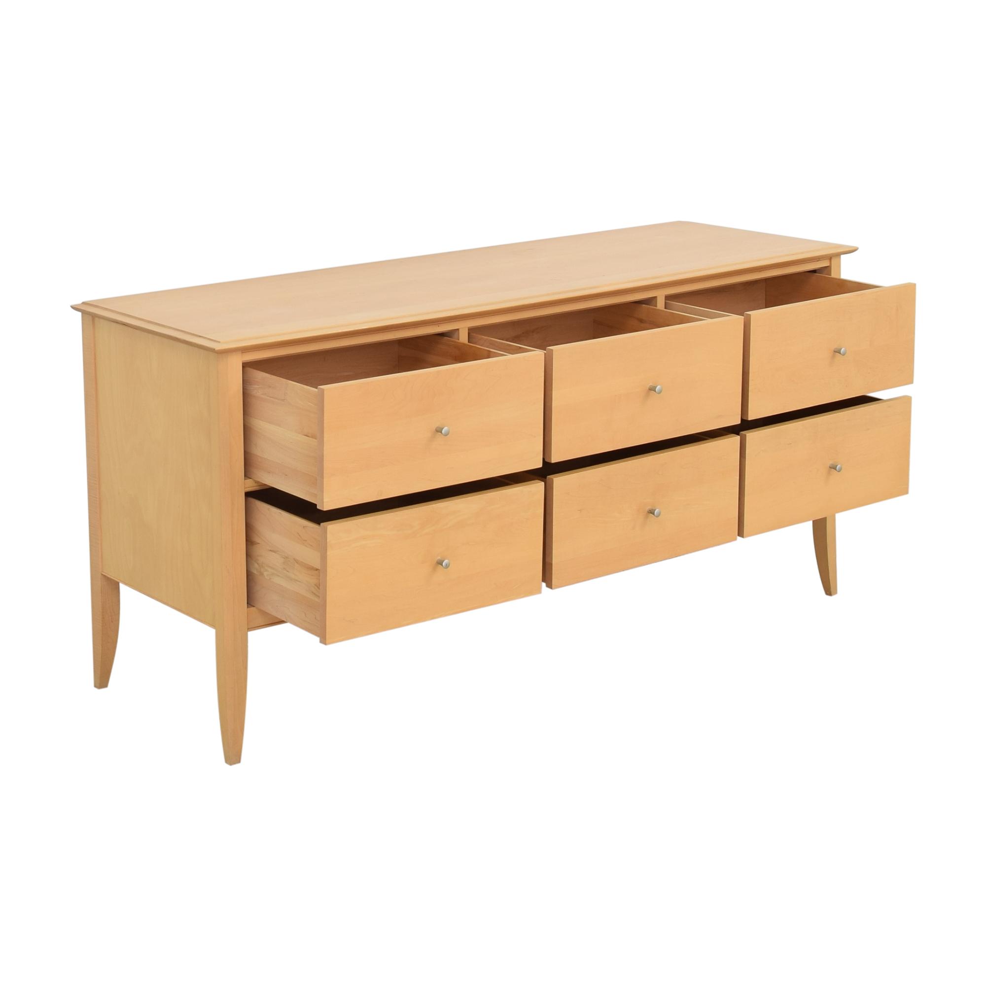 Crate & Barrel Crate & Barrel Baronet Six Drawer Dresser discount