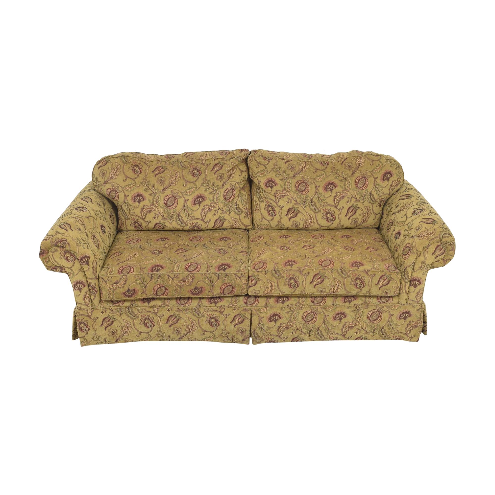 Broyhill Furniture Two Cushion Skirted Sofa sale