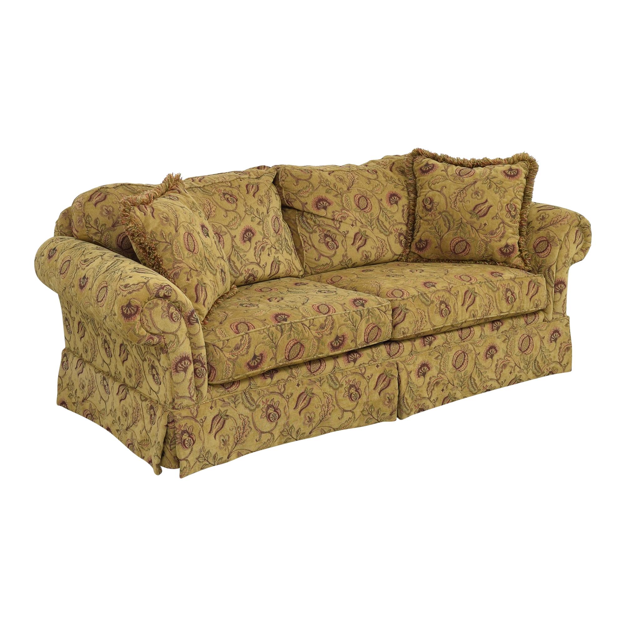 Broyhill Furniture Broyhill Furniture Two Cushion Skirted Sofa price