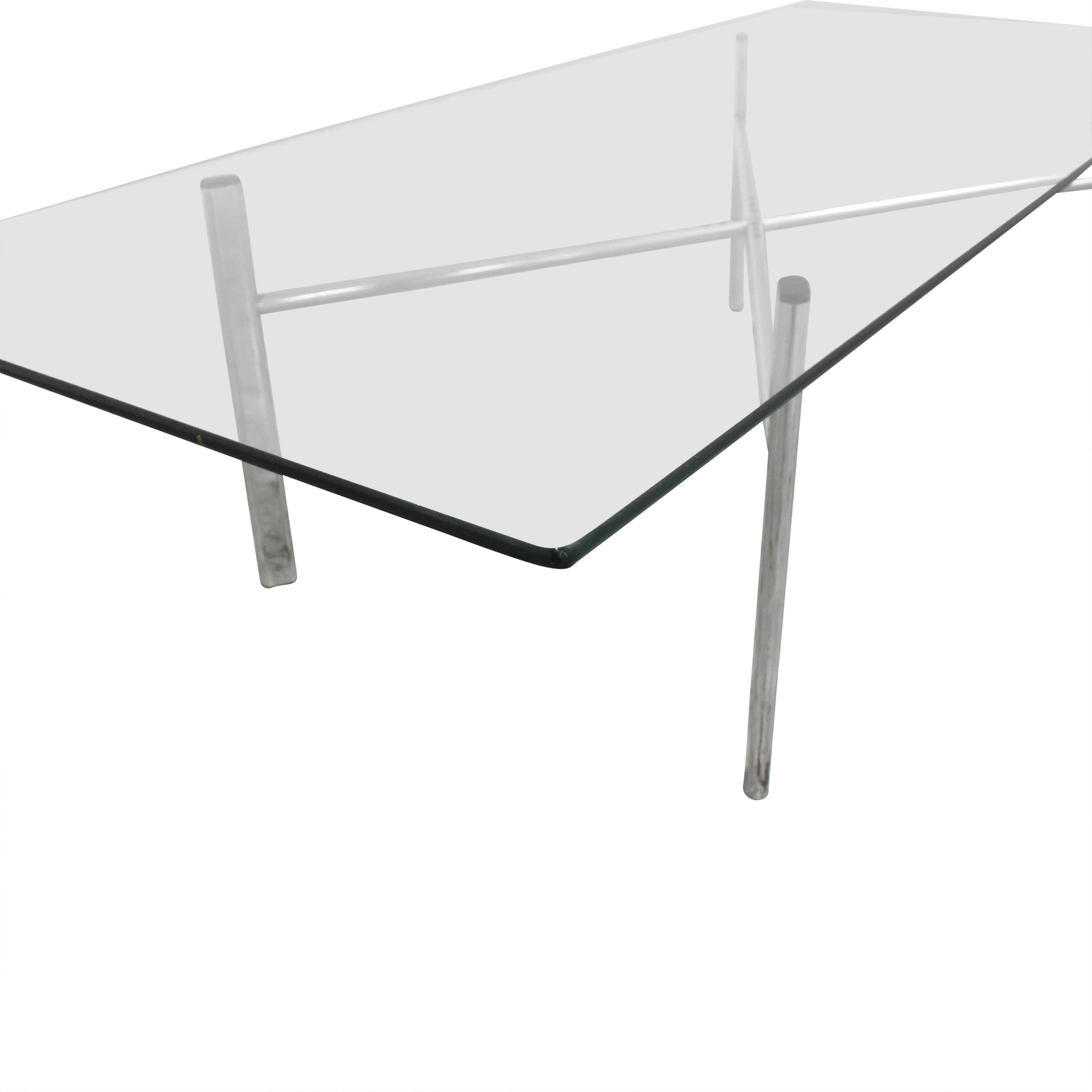 buy Custom Modern Coffee Table with Transparent Surface  Tables