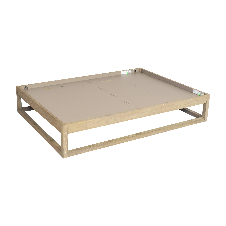 buy Restoration Hardware Laguna Full Platform Bed Restoration Hardware Bed Frames