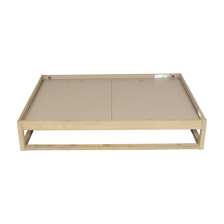 buy Restoration Hardware Laguna Full Platform Bed Restoration Hardware