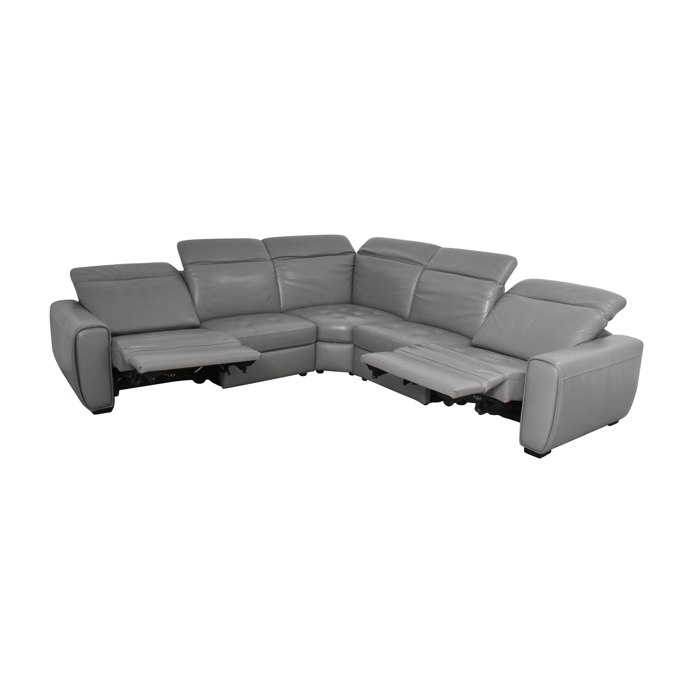 W. Schillig W. Schillig Kristina Reclining Sectional Sofa  used
