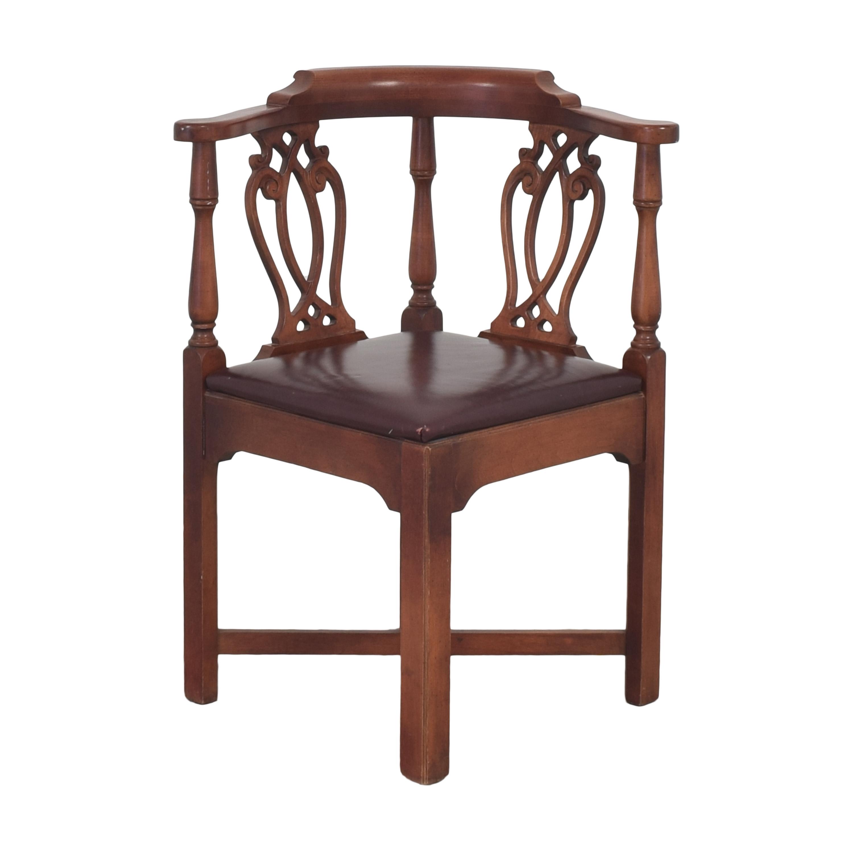 buy Lauren Crown Vintage-Style Corner Chair Laurel Crown