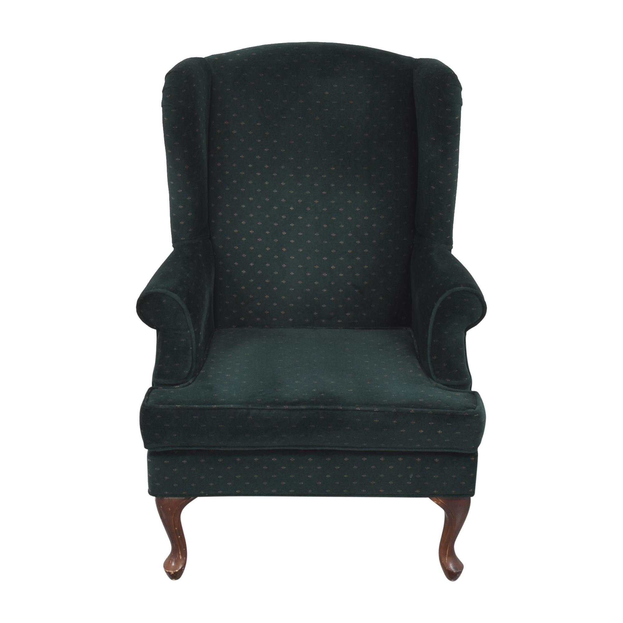 Ethan Allen Ethan Allen Wingback Arm Chair ma