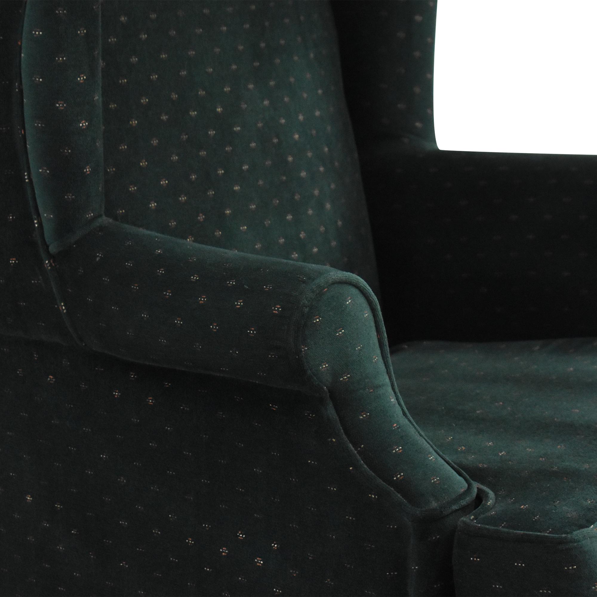 Ethan Allen Ethan Allen Wingback Arm Chair nj