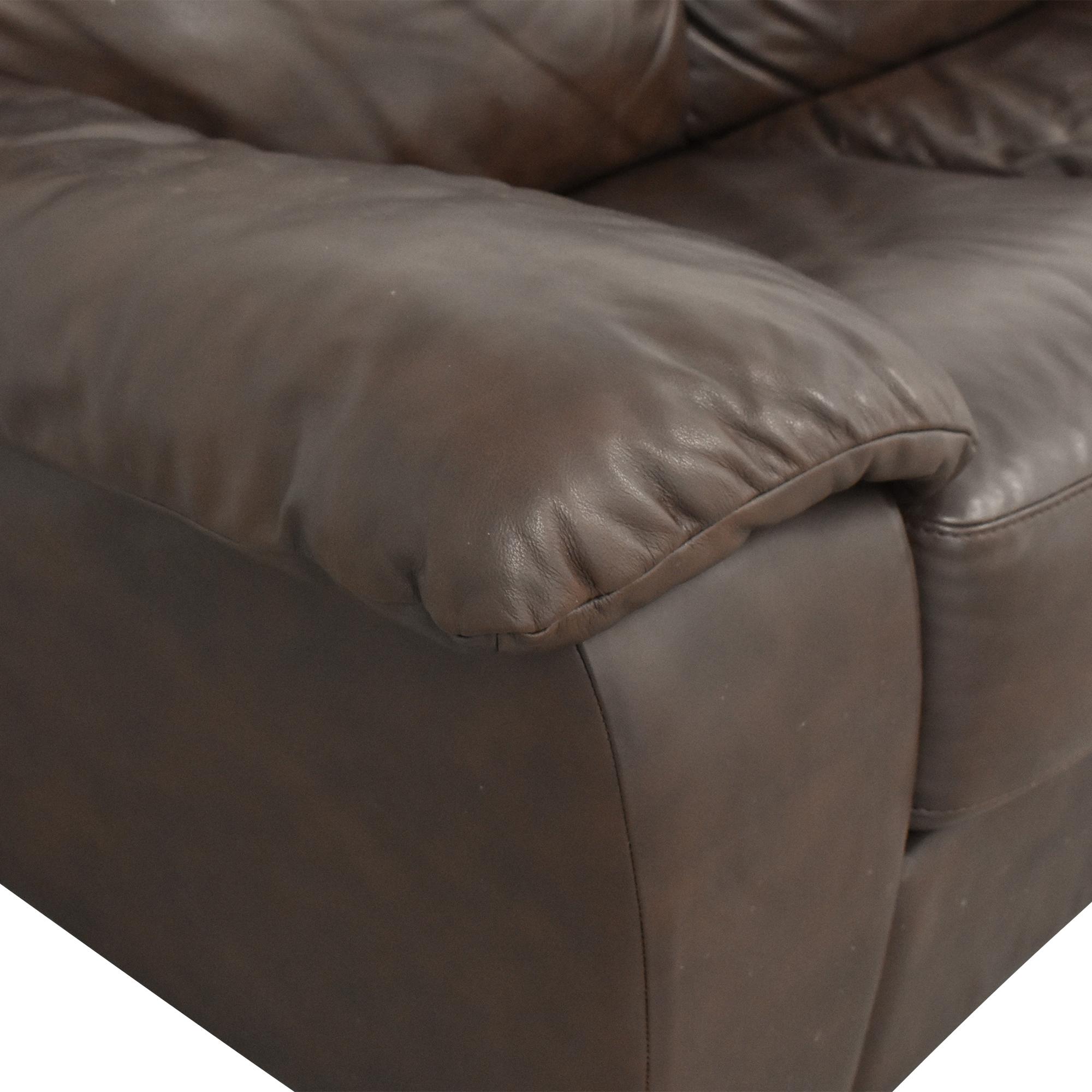 Macy's Macy's Lothan Queen Sleeper Sofa Sofa Beds
