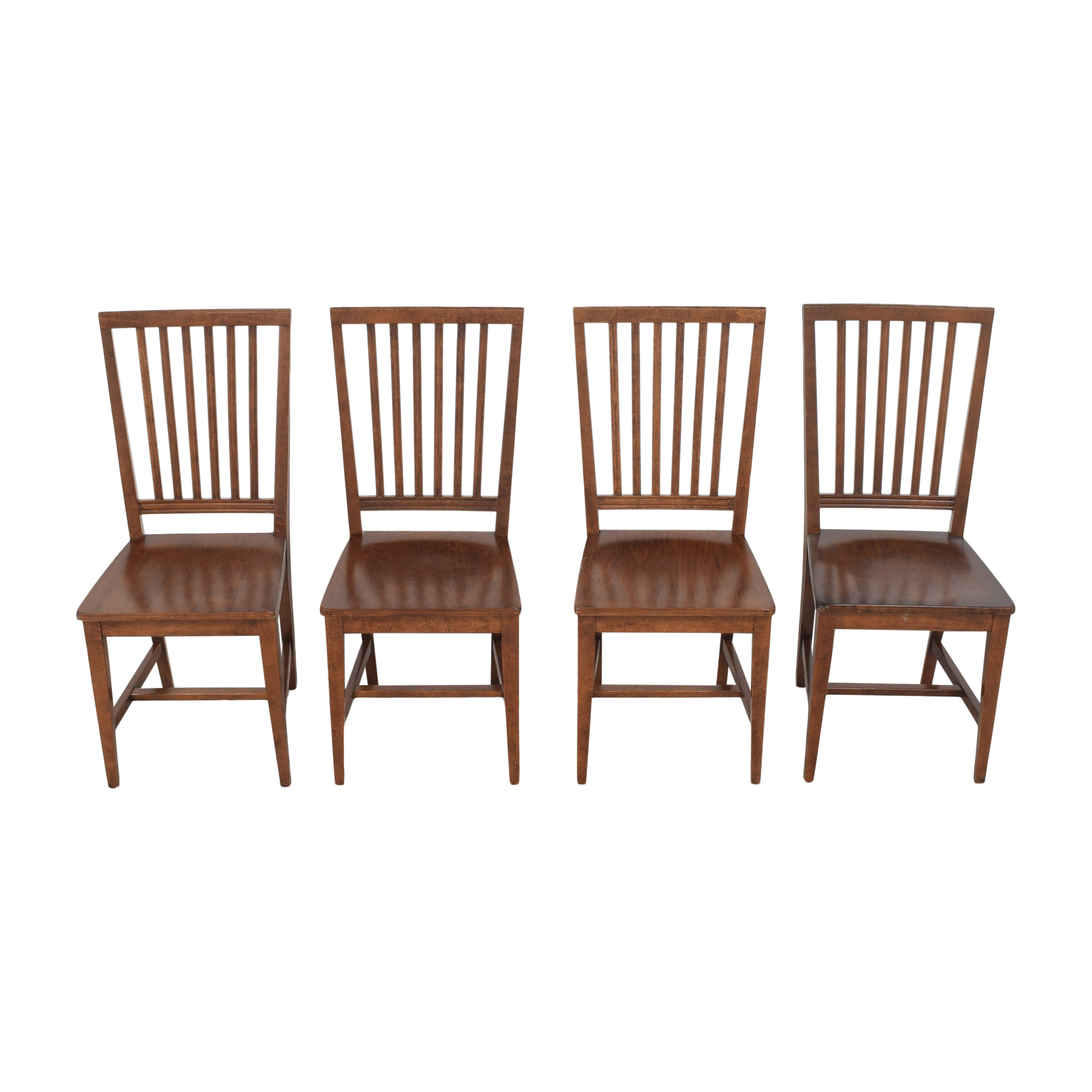 Crate & Barrel Village Nero Noche Dining Chairs / Dining Chairs