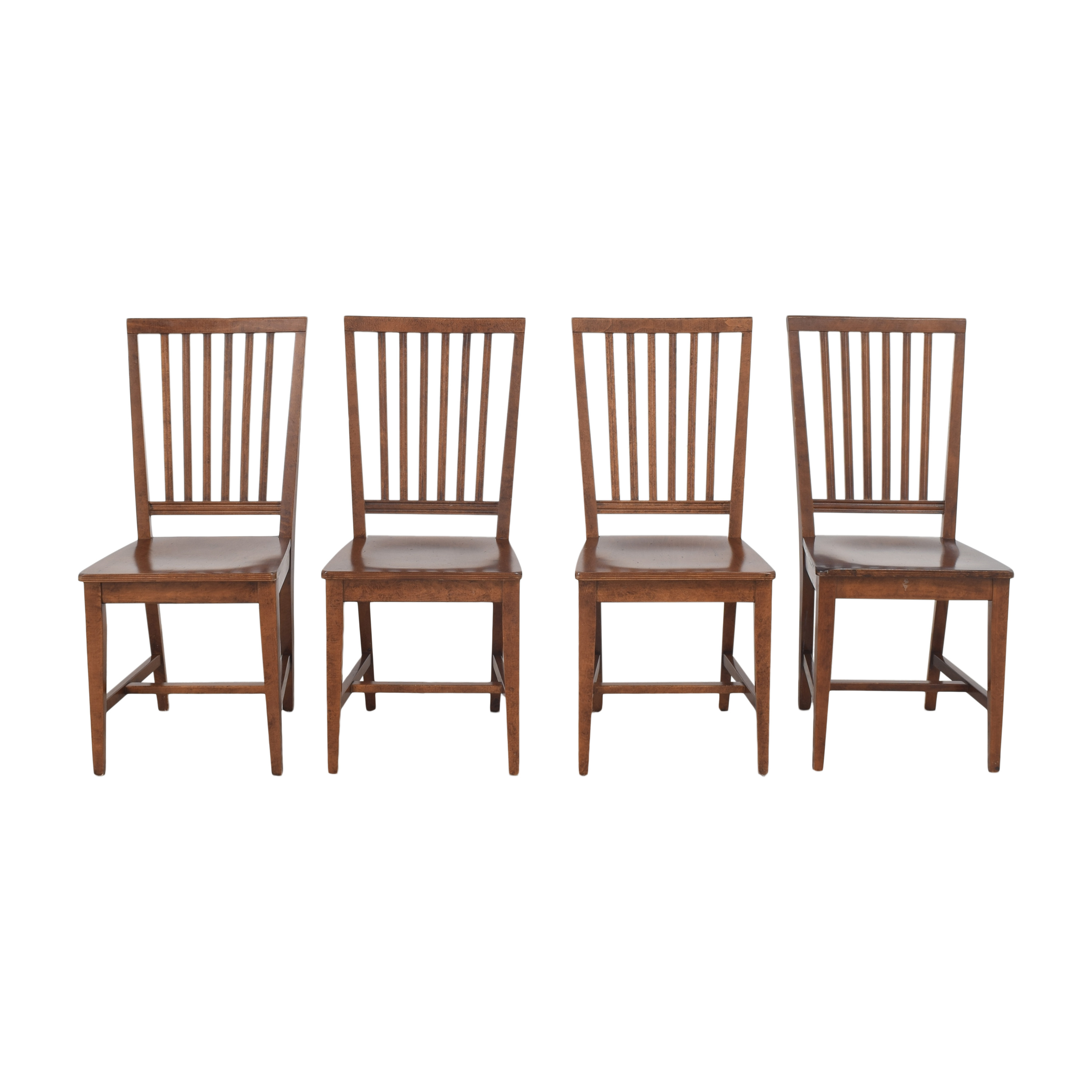 Crate & Barrel Crate & Barrel Village Nero Noche Dining Chairs nj