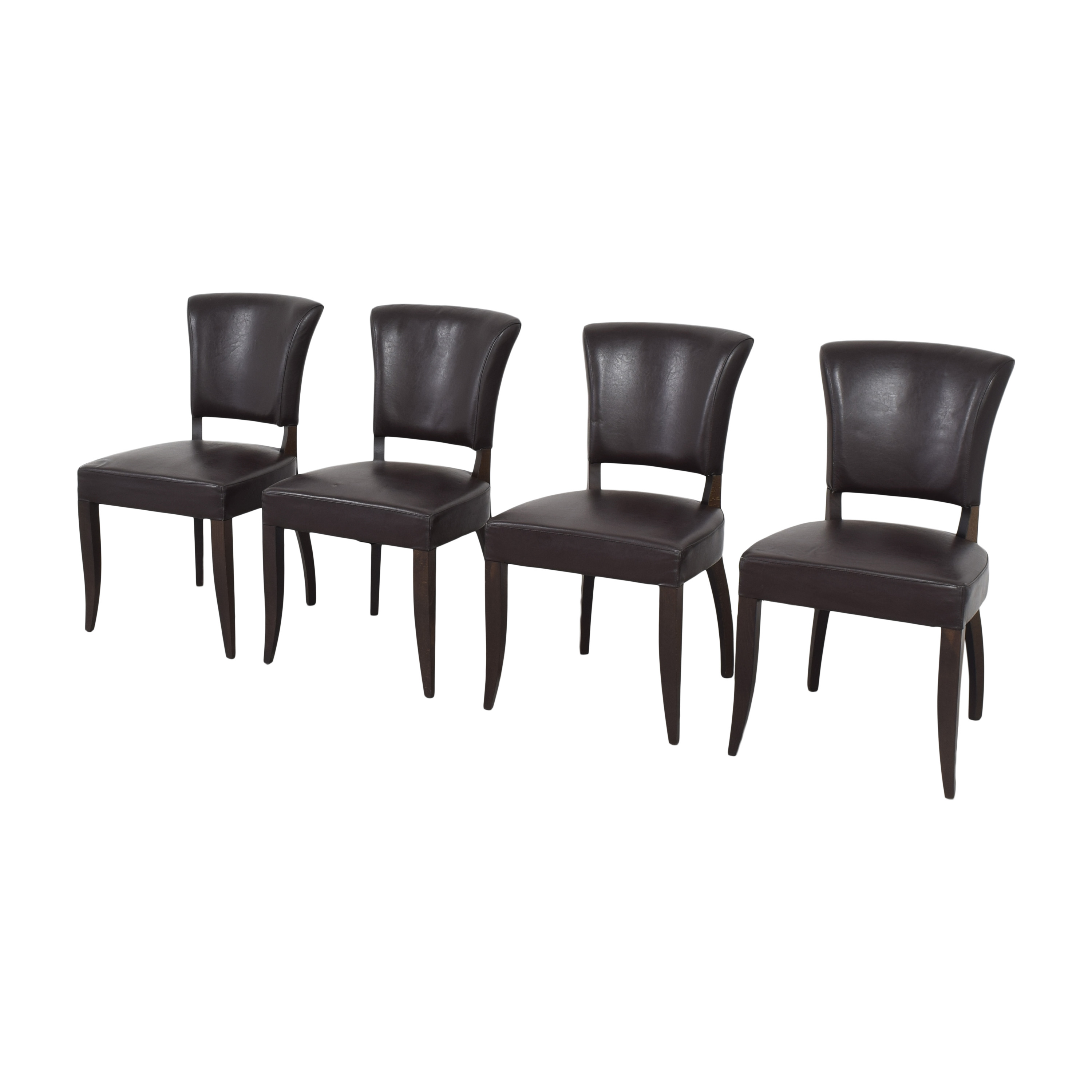 Crate & Barrel Crate & Barrel Side Dining Chairs for sale