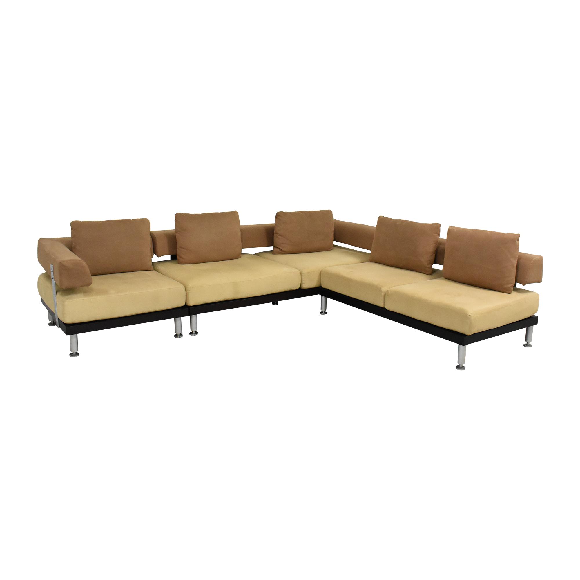 Modern L Shaped Sectional Sofa