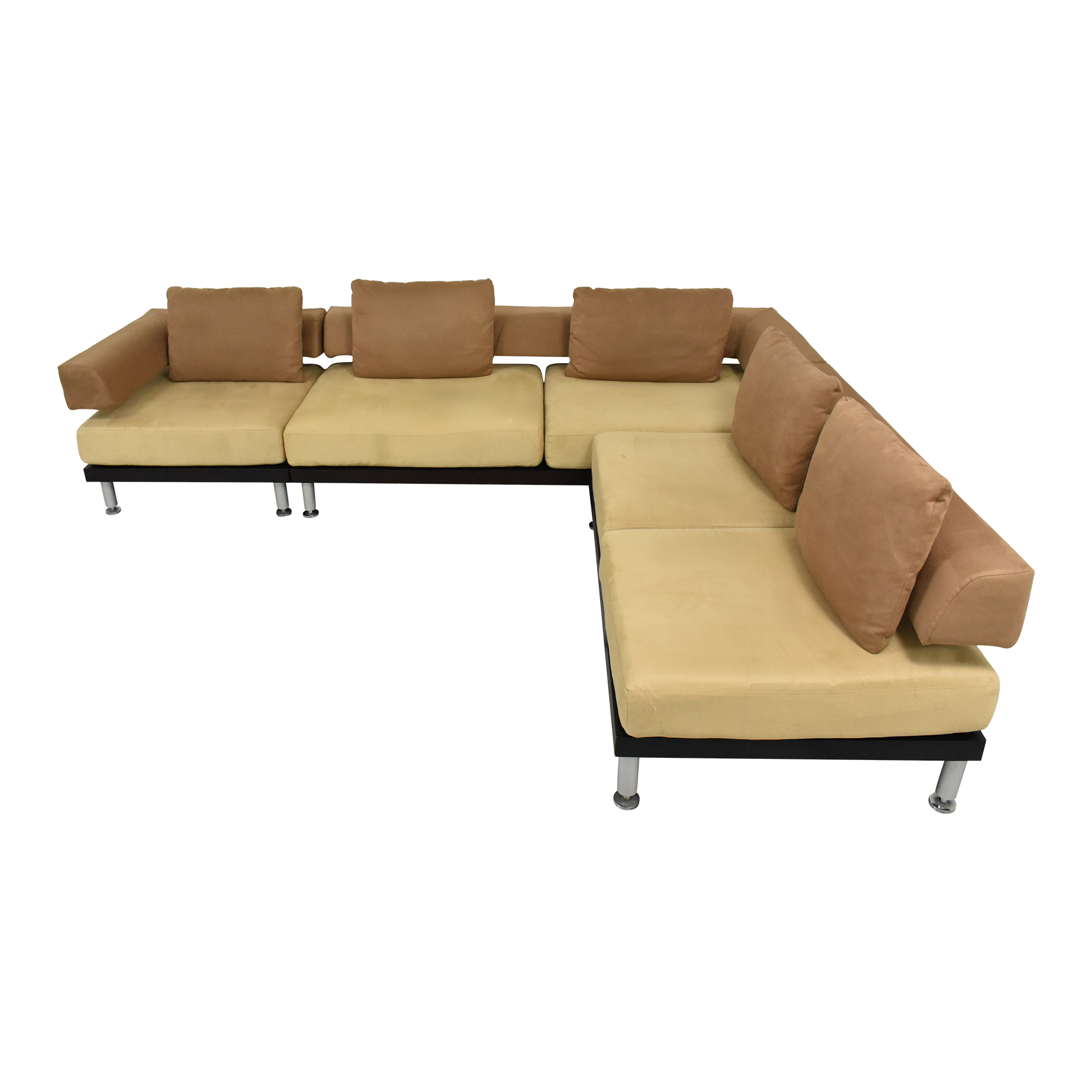 buy Modern L Shaped Sectional Sofa  Sectionals