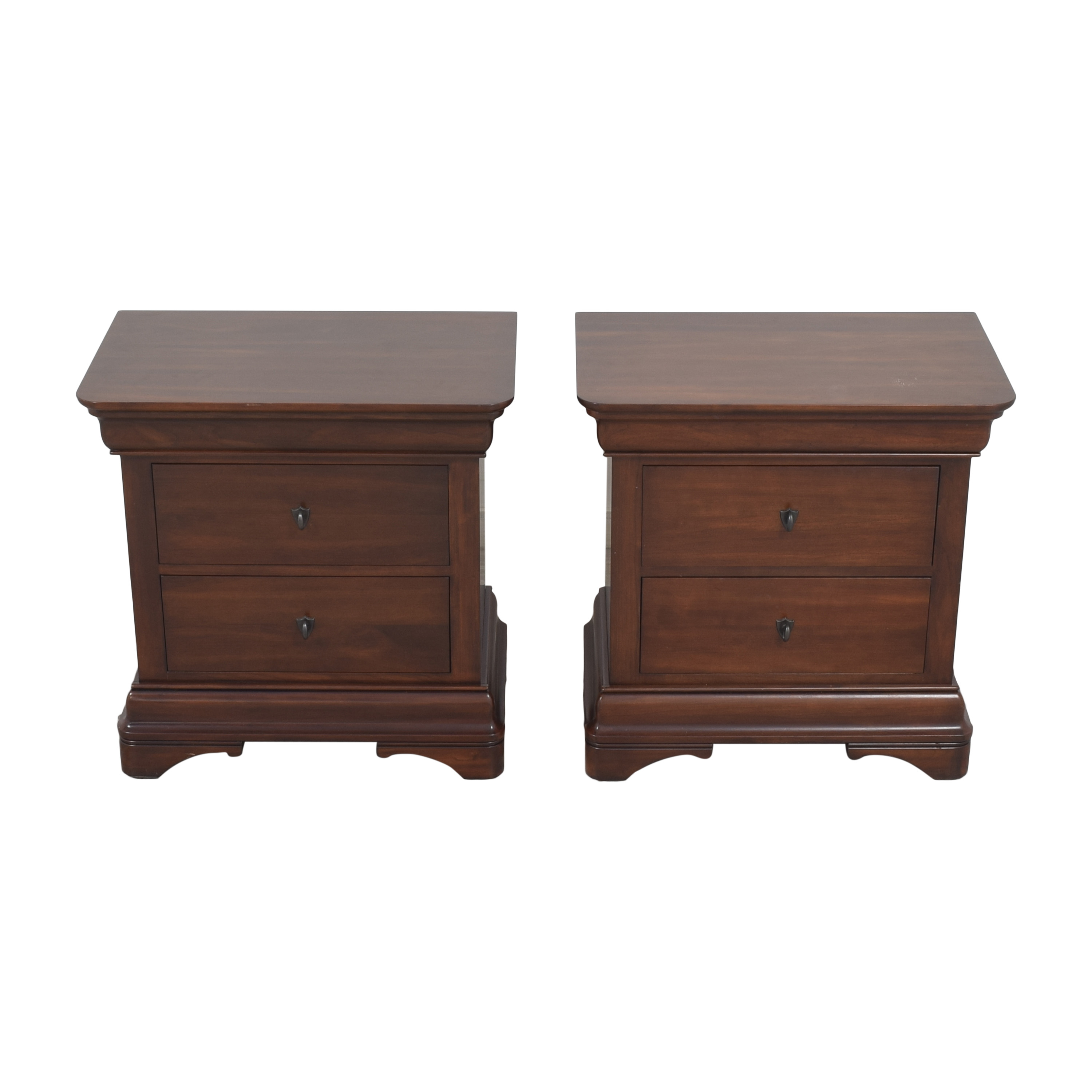buy Nichols & Stone Marseilles Two Drawer Nightstands Nichols & Stone End Tables
