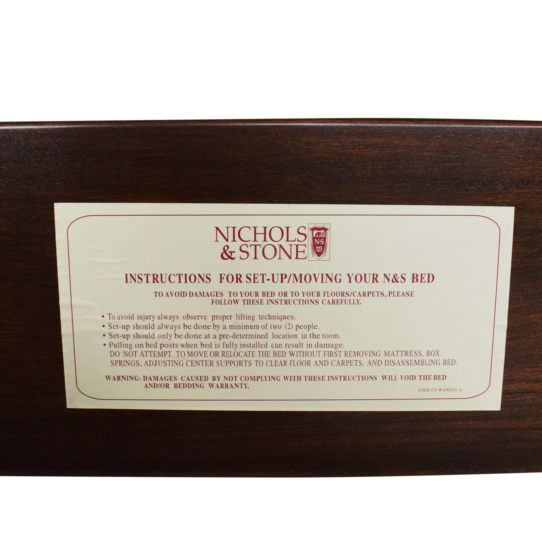 buy Nichols & Stone Marseilles Queen Sleigh Bed Nichols & Stone Bed Frames