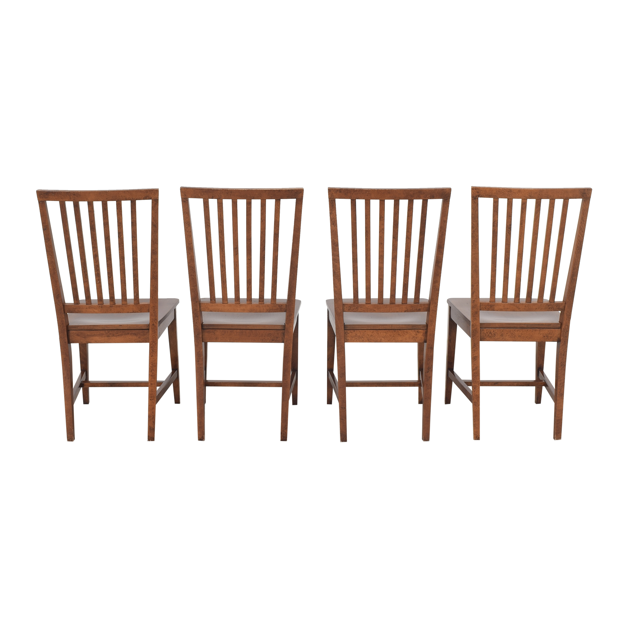 Crate & Barrel Village Nero Noche Dining Chairs / Chairs