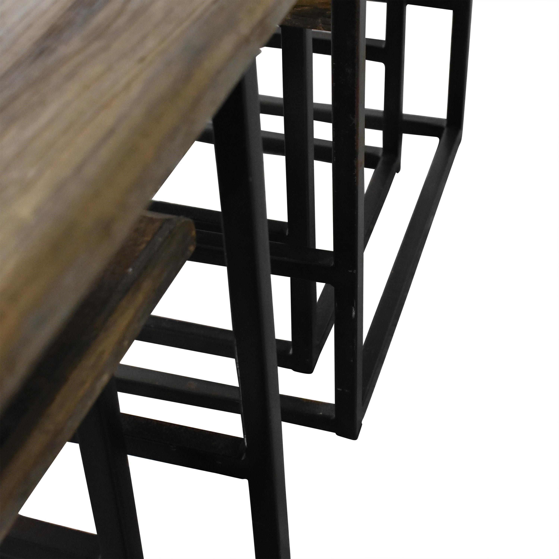 shop Restoration Hardware Restoration Hardware Rustic Nesting Side Tables online