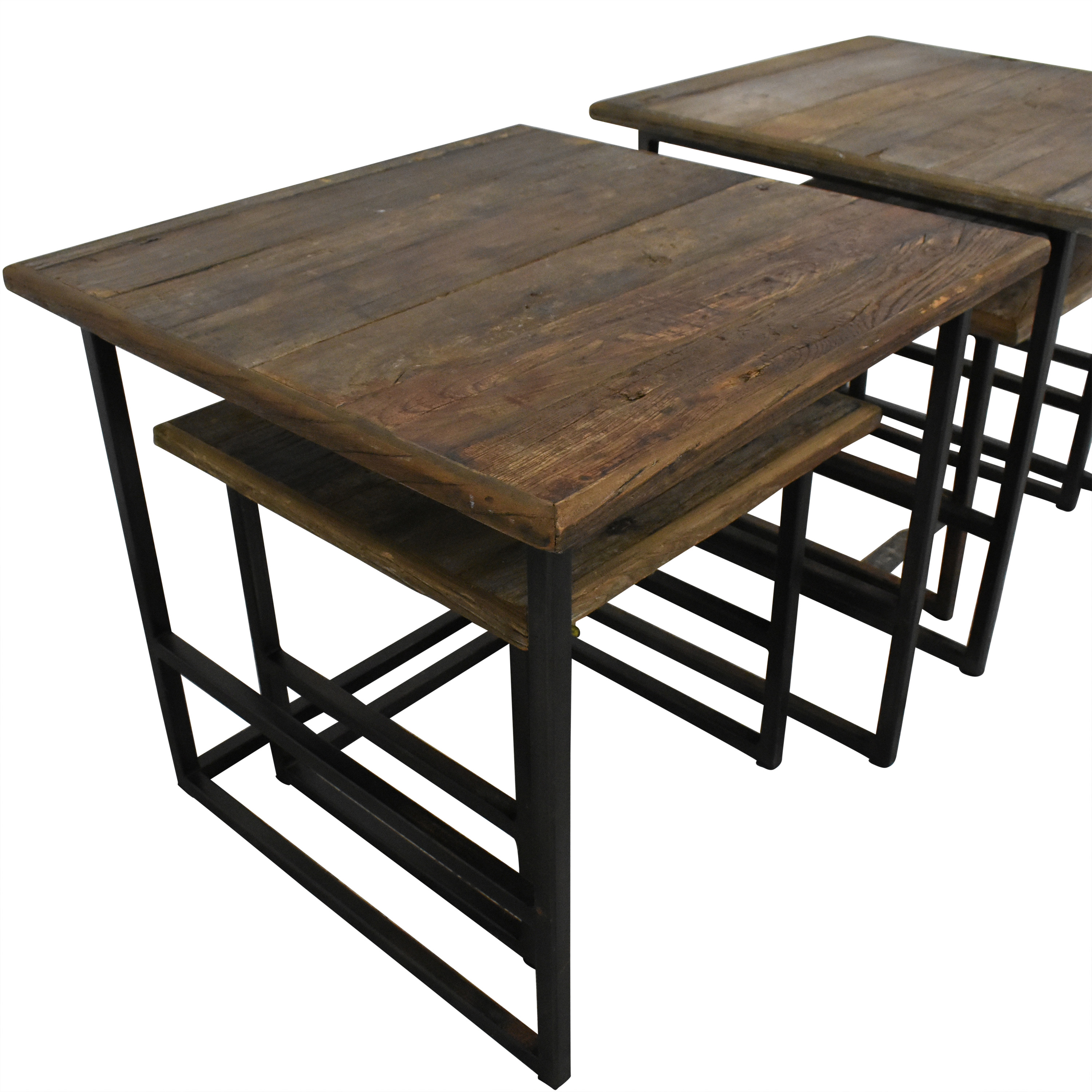 Restoration Hardware Restoration Hardware Rustic Nesting Side Tables coupon