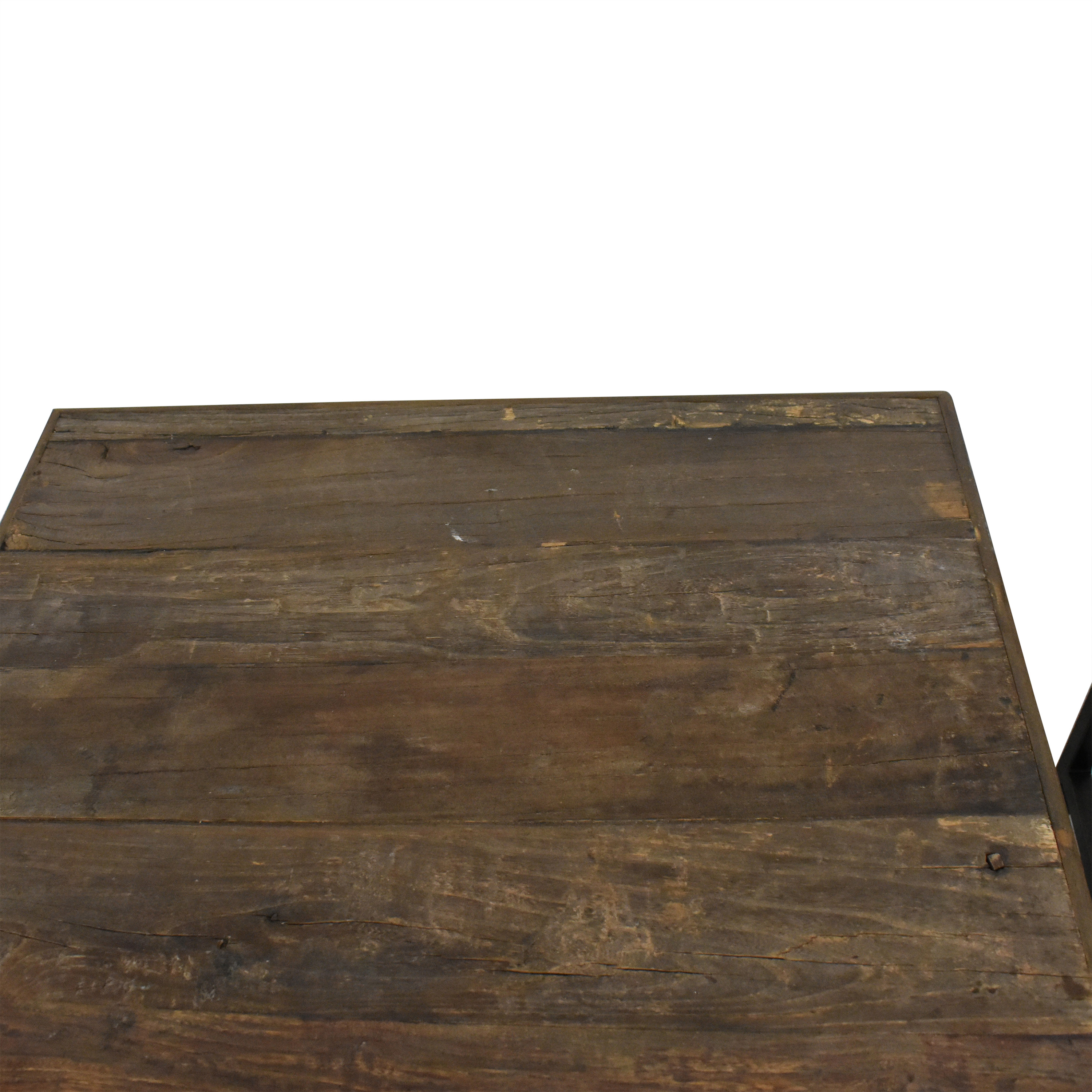 Restoration Hardware Restoration Hardware Rustic Nesting Side Tables second hand