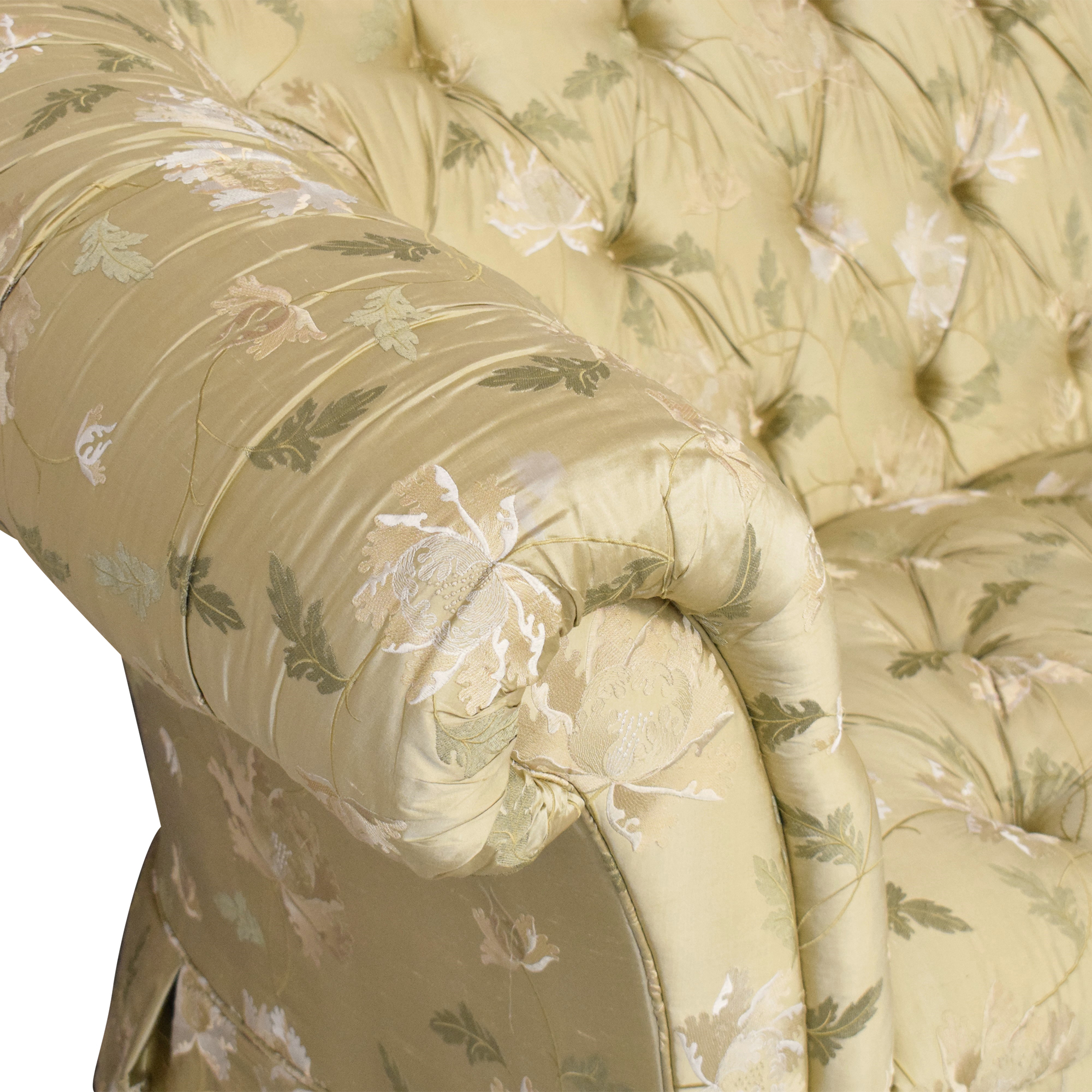 Lillian August Lillian August Chesterfield Floral Sofa