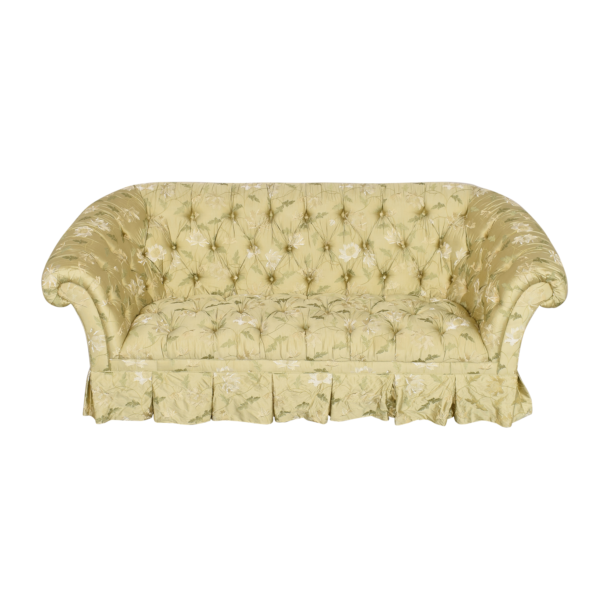 shop Lillian August Lillian August Chesterfield Floral Sofa online